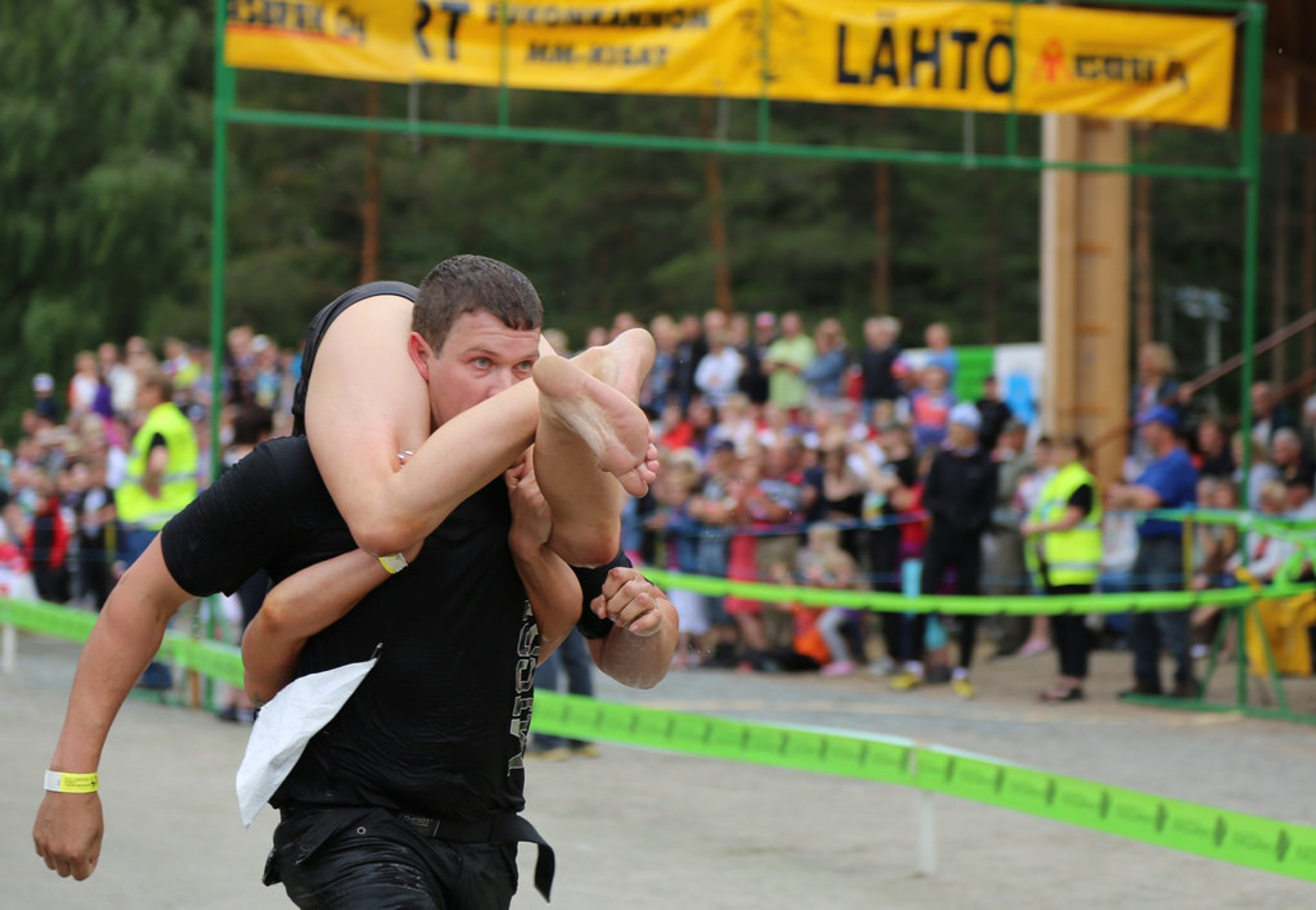 Wife Carrying World Championships in Finland - Best Season 2020