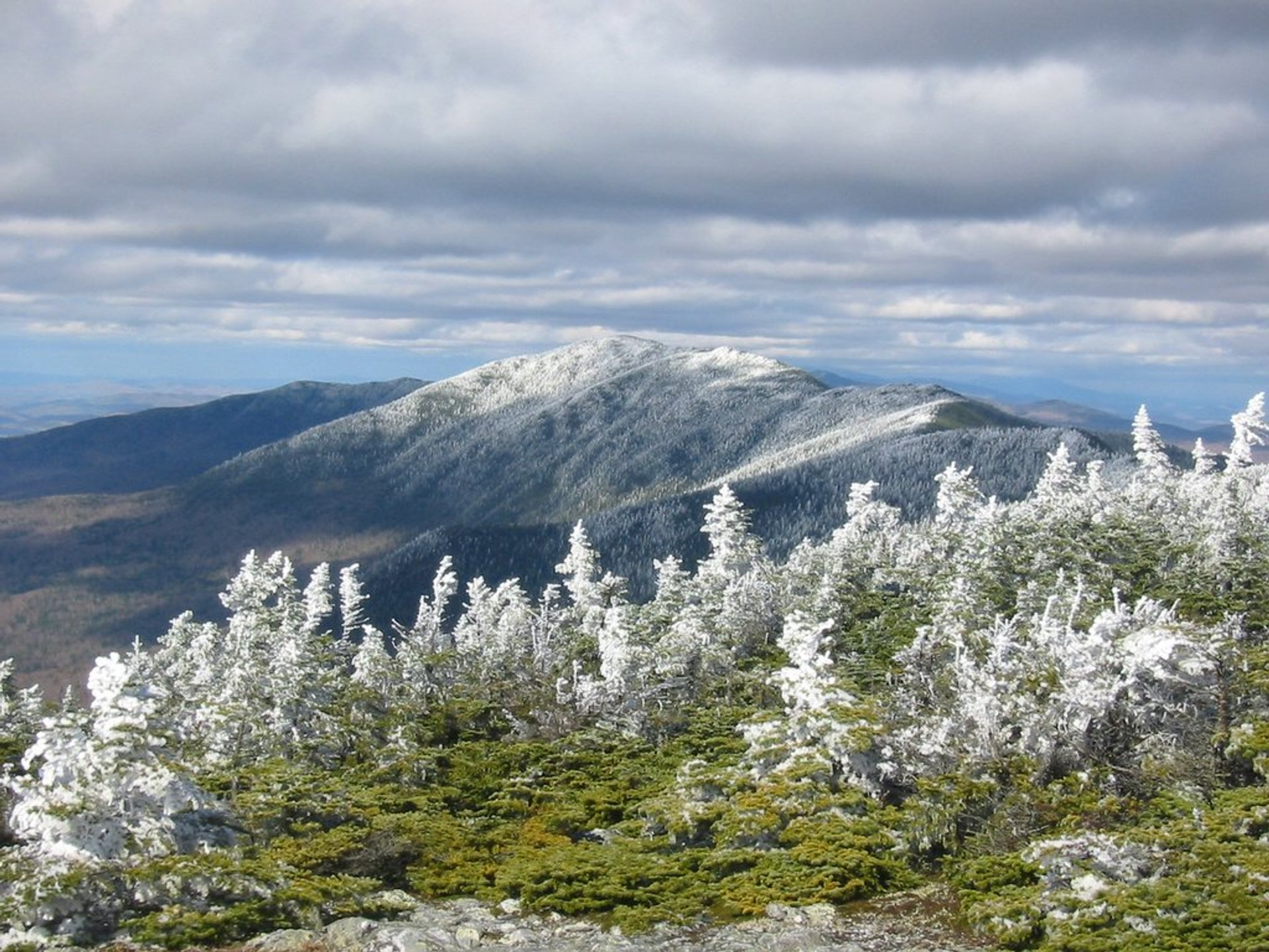 Mt. Abraham on the Long Trail 2020