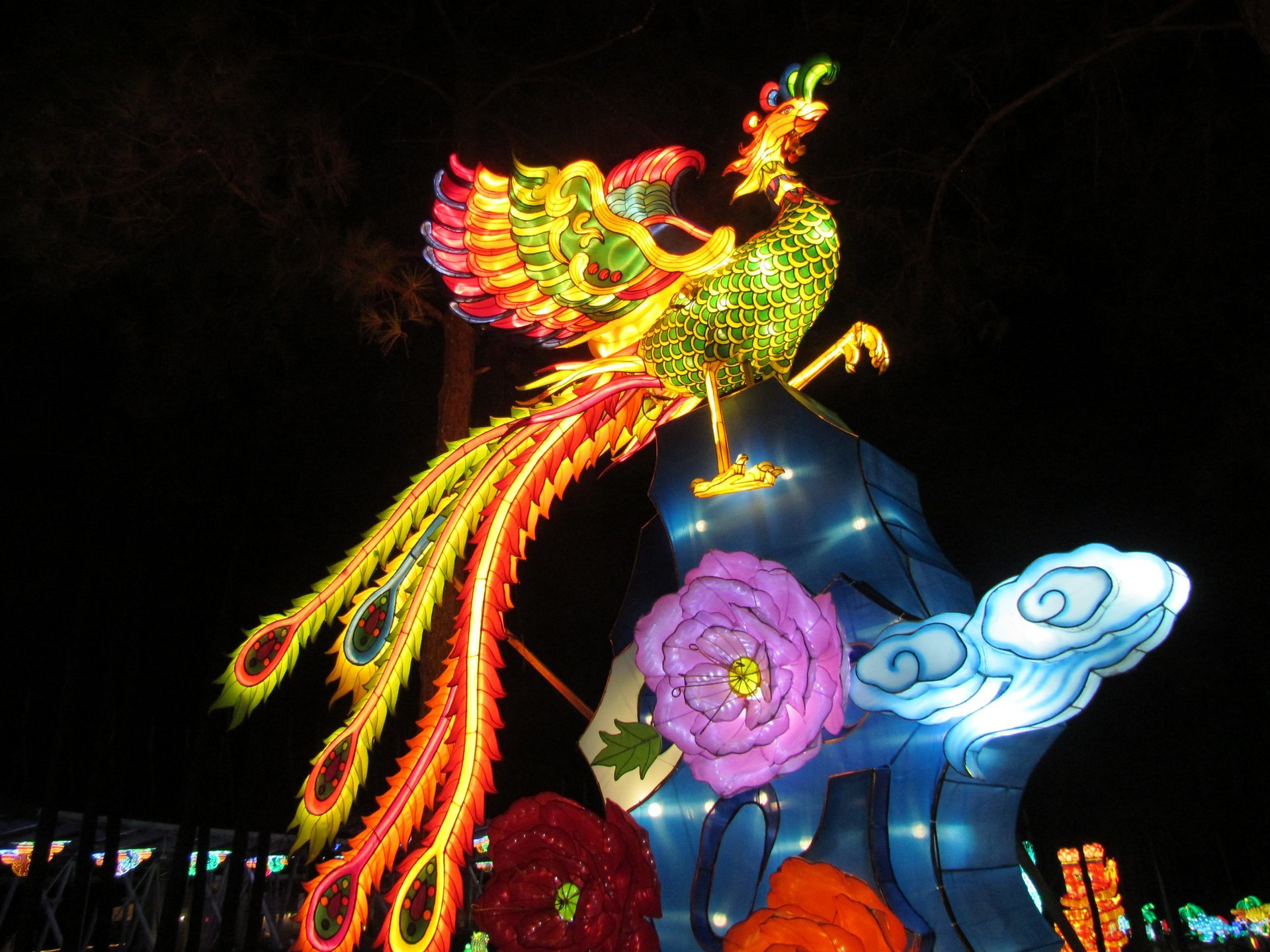 Best time for NC Chinese Lantern Festival 2020