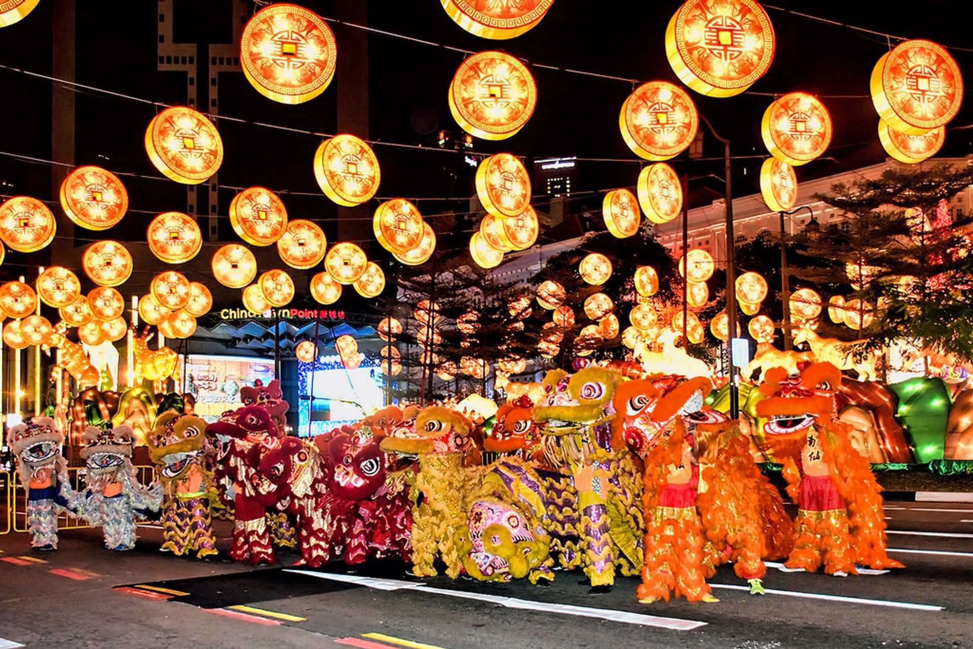 Best time for Lunar New Year in Singapore 2020
