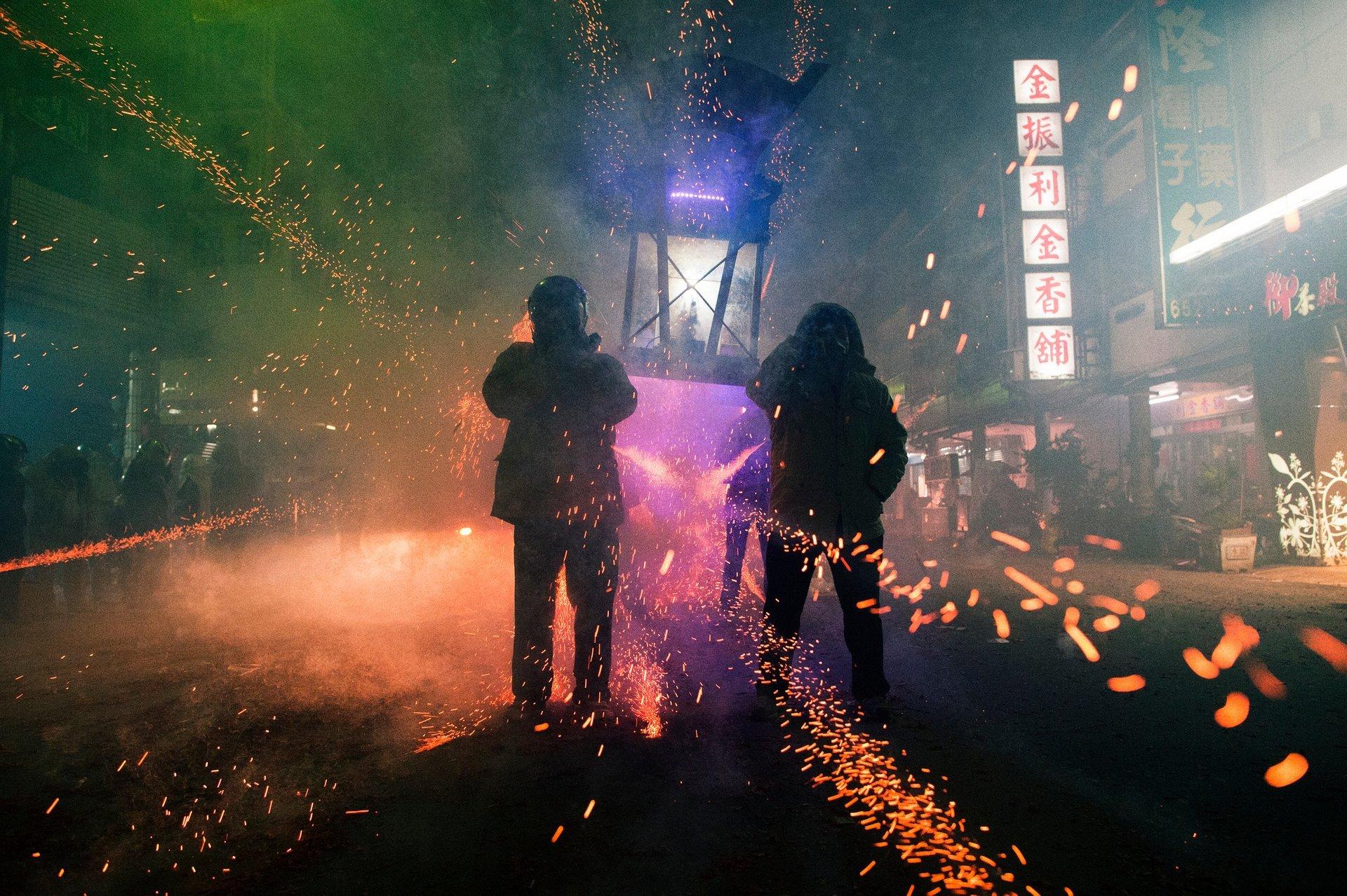 Yanshui Beehive Fireworks Festival in Taiwan - Best Season 2020
