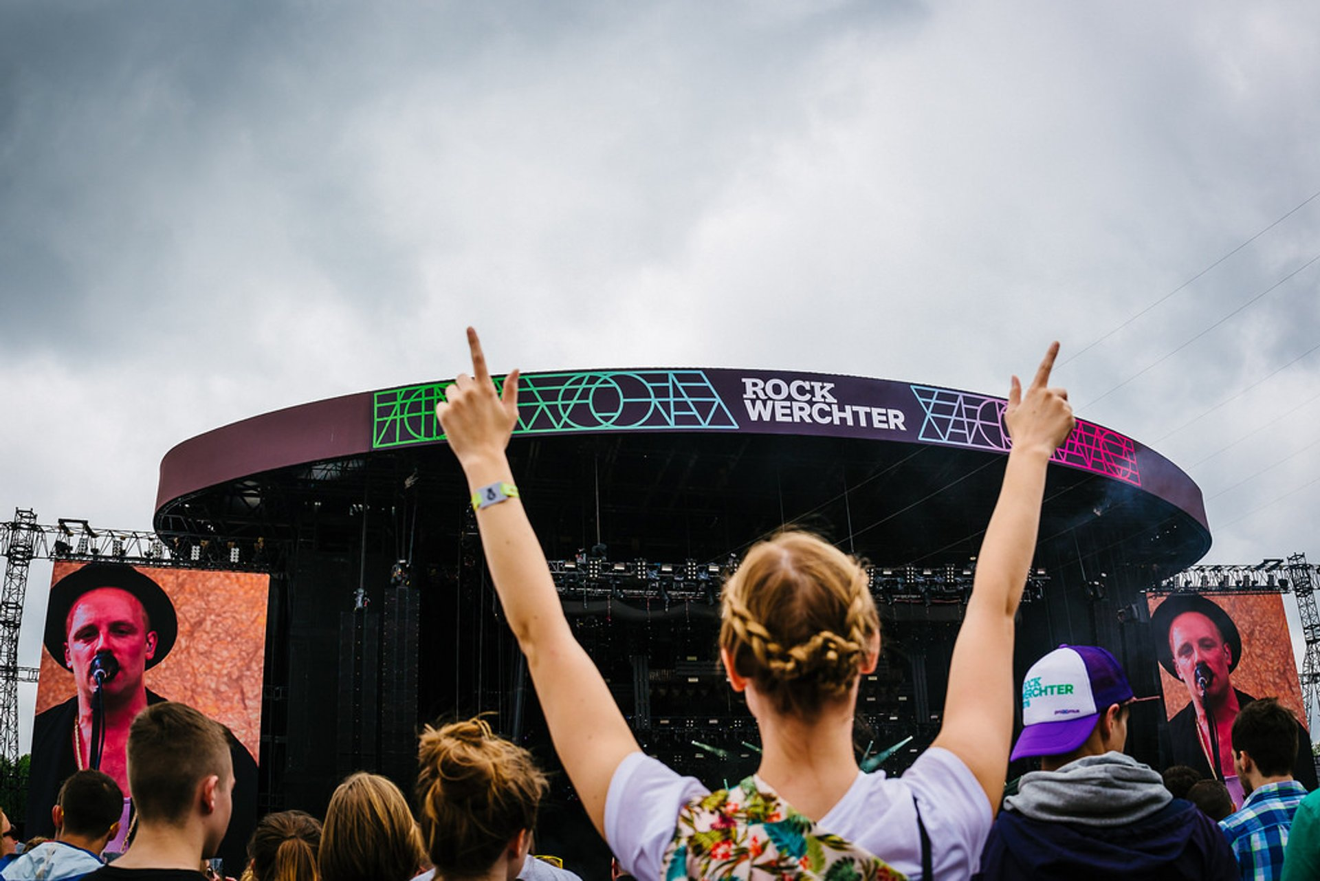 Best time for Rock Werchter in Belgium 2019