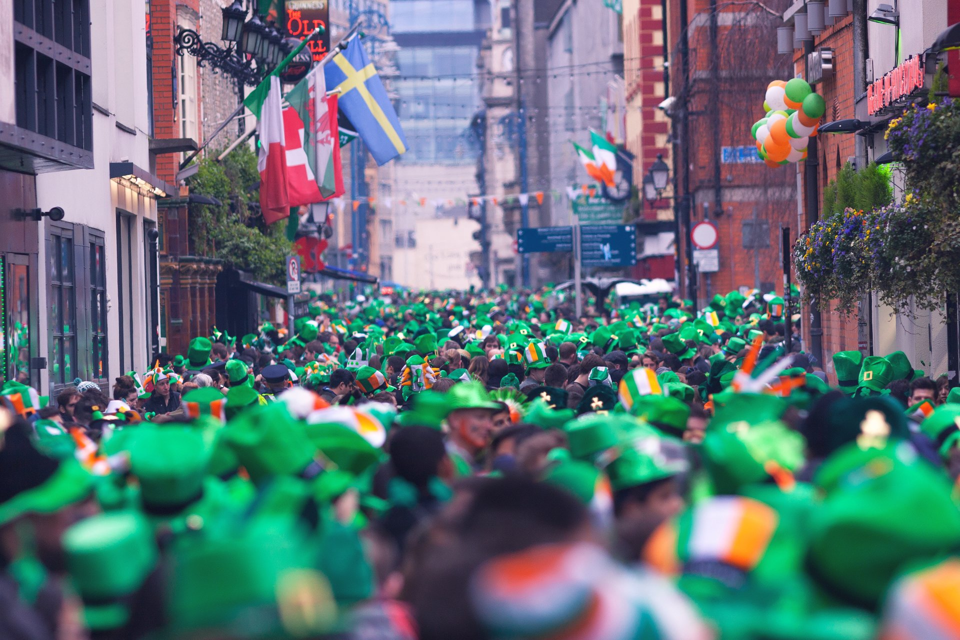 Best time for St. Patrick's Day in Ireland 2019