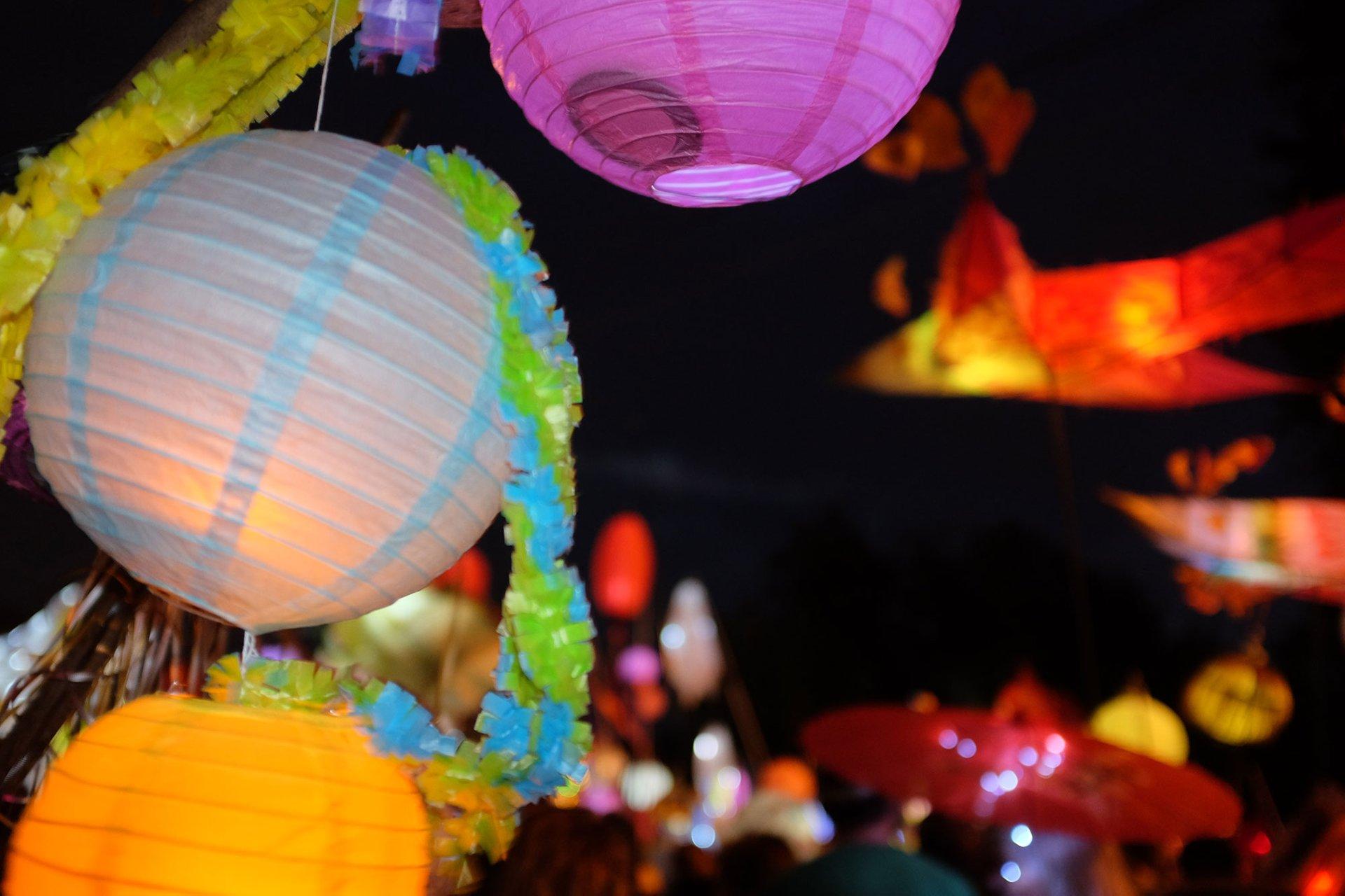 The Atlanta BeltLine Lantern Parade in Atlanta 2020 - Best Time
