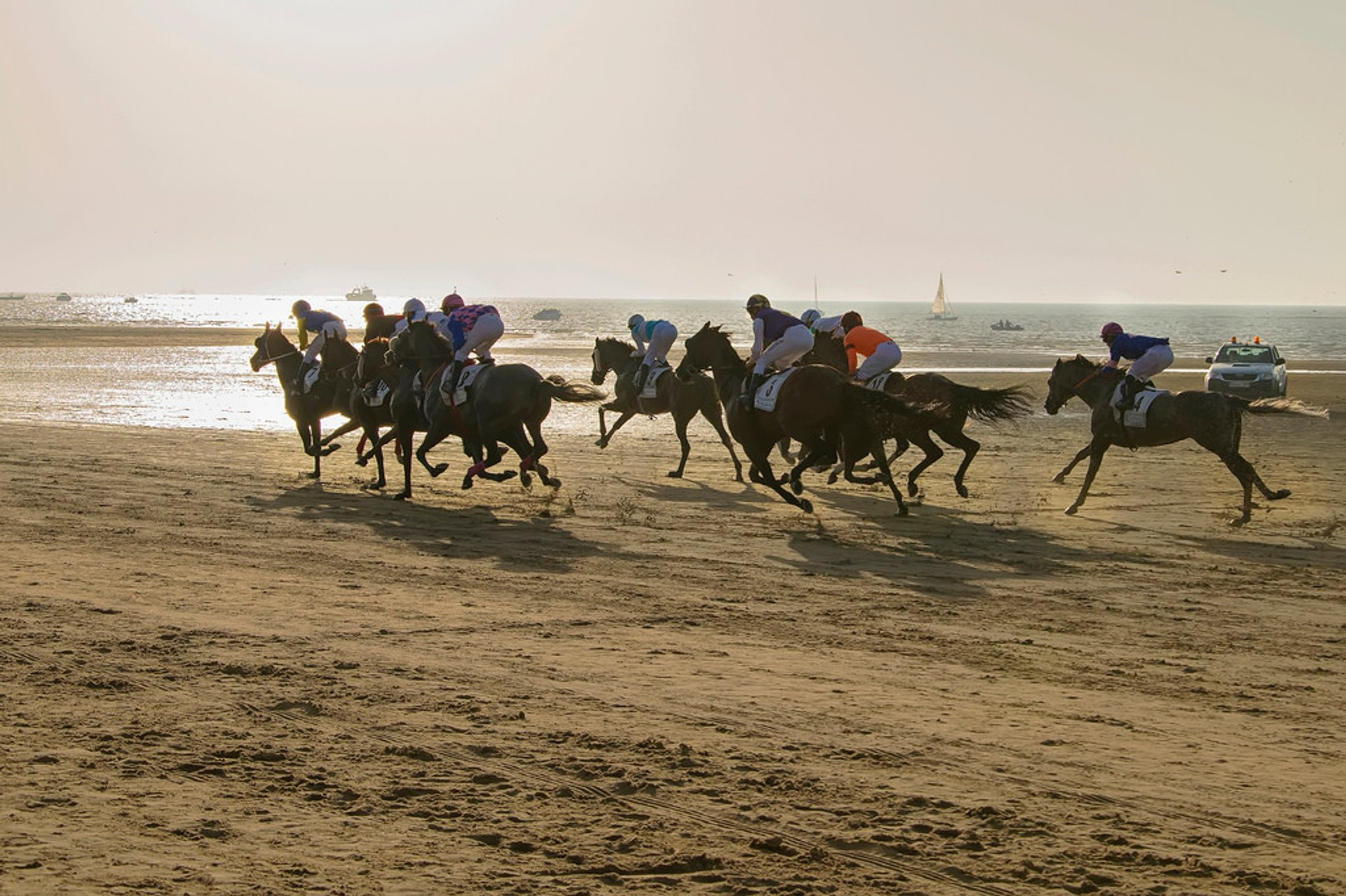 Best time to see Sanlúcar Horse Racing in Spain