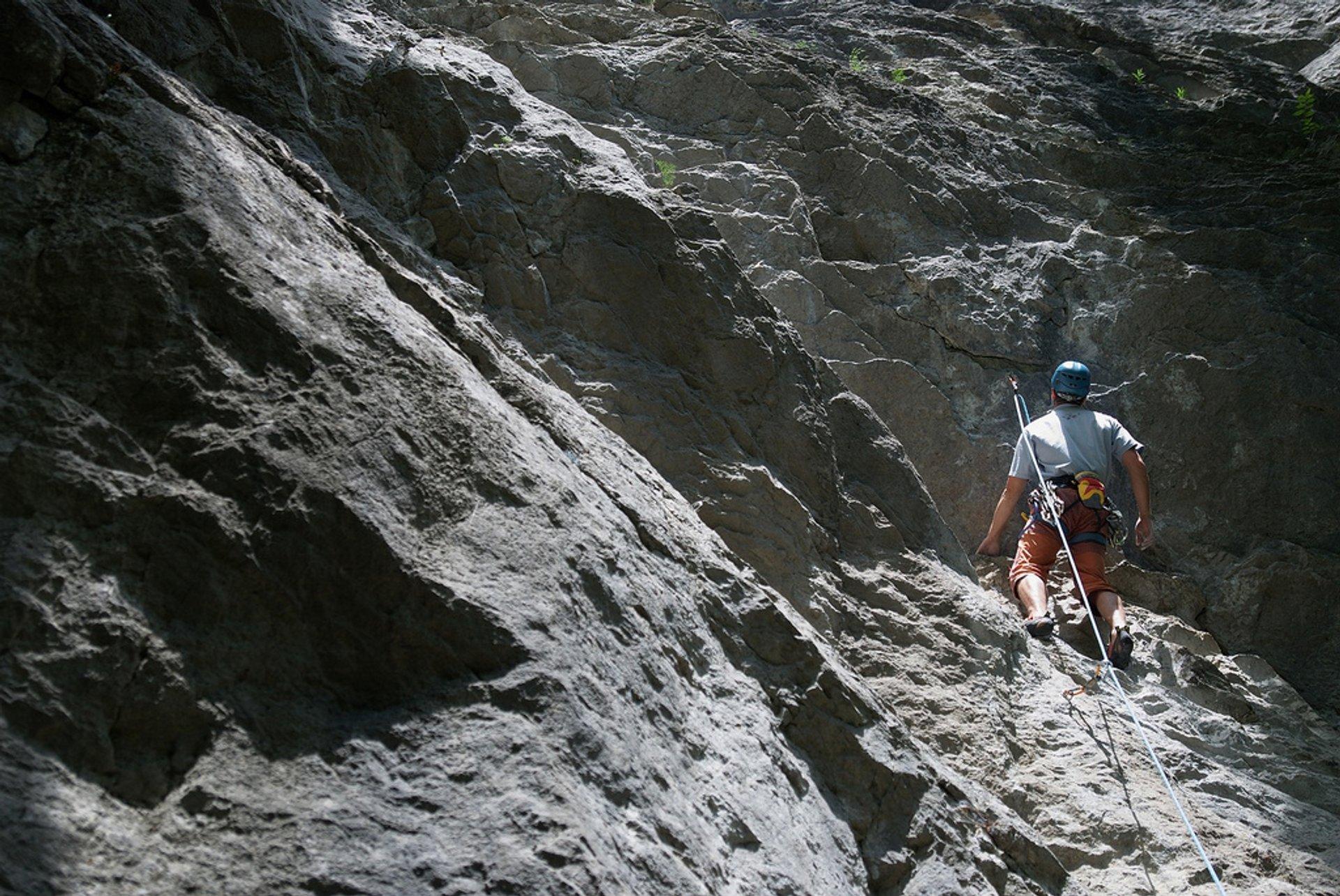 Rock Climbing in Slovakia 2020 - Best Time