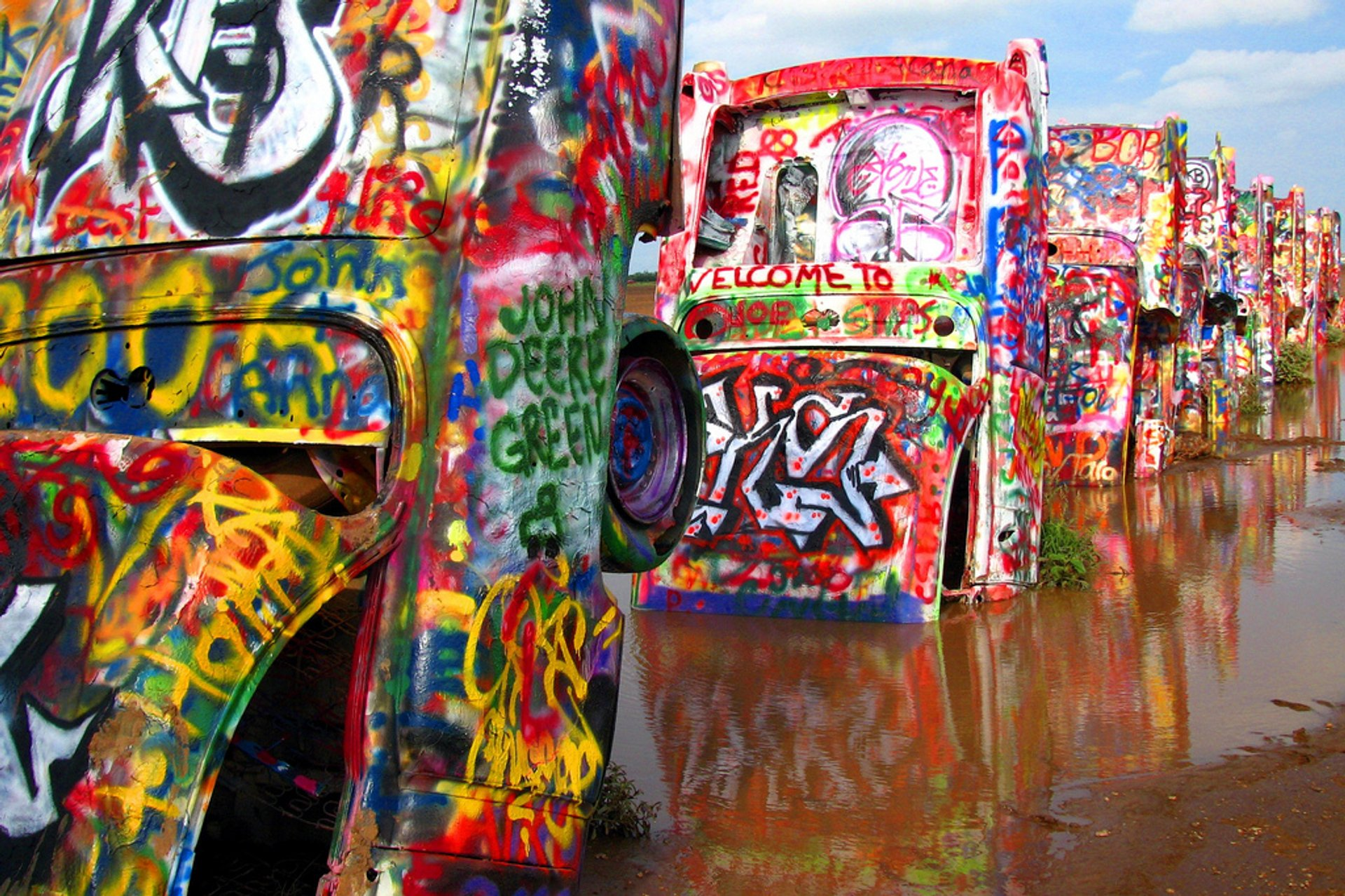 Cadillac Ranch in Texas 2020 - Best Time