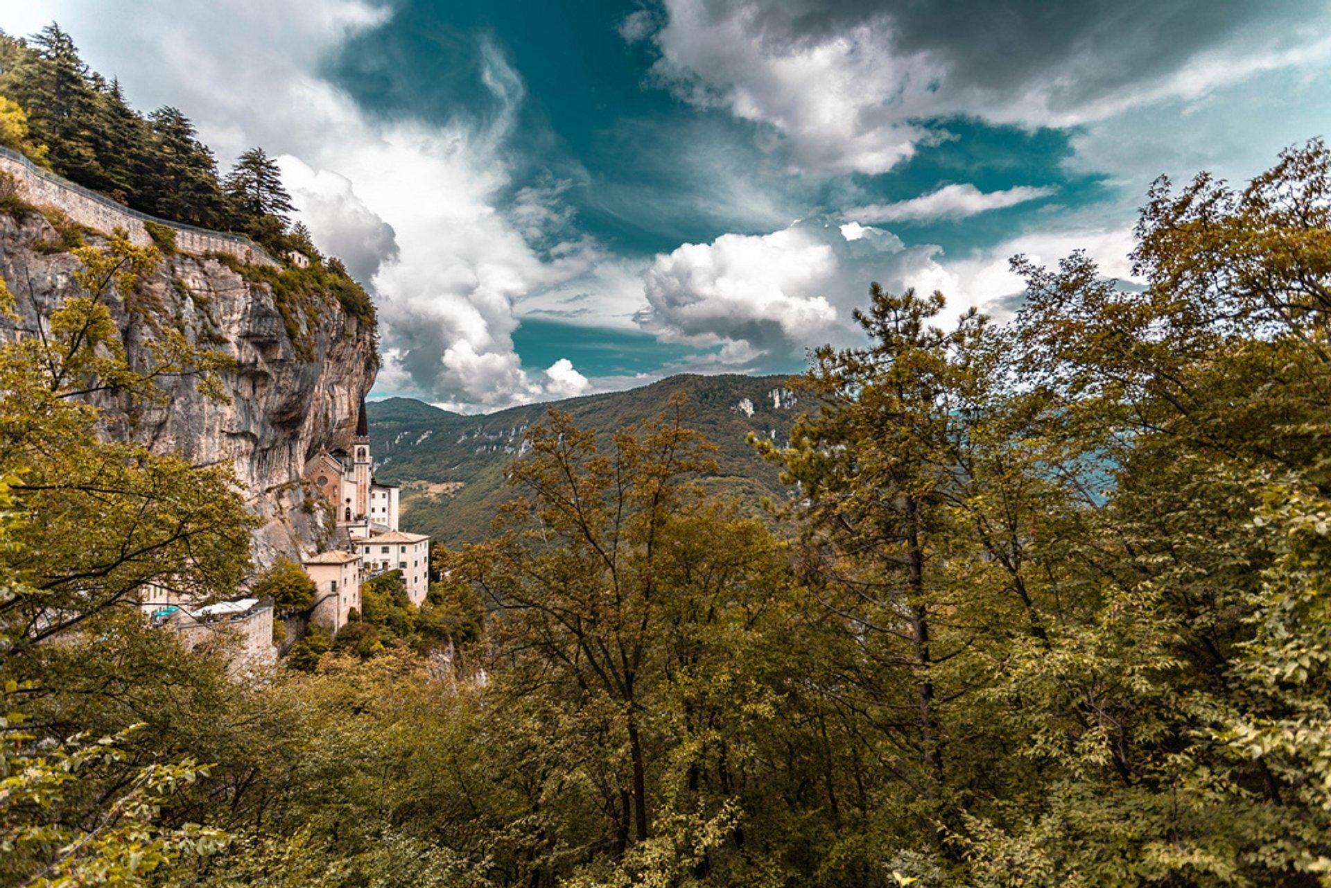 Santuario Basilica Madonna della Corona in Italy - Best Season 2020