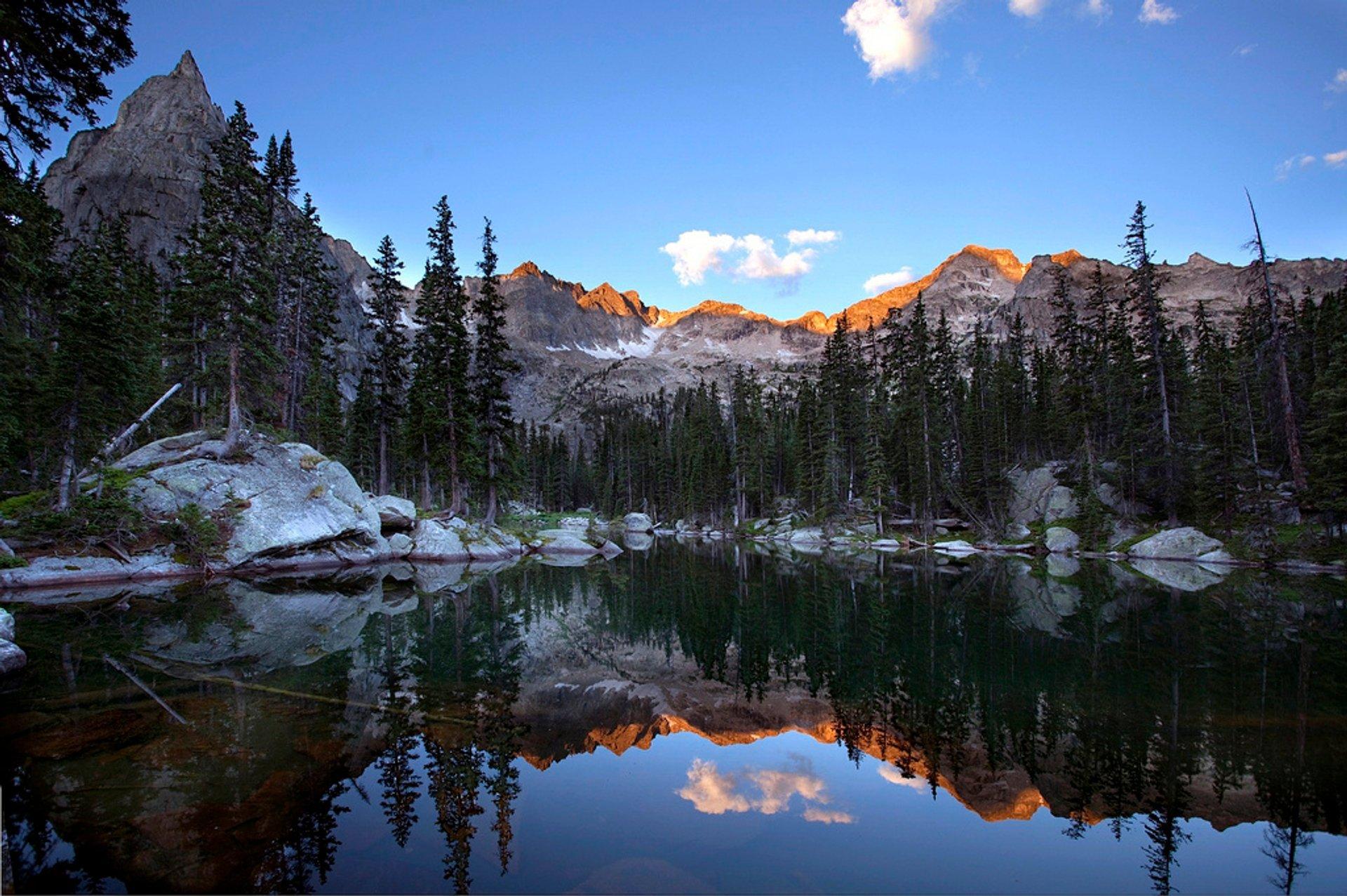 Mirror Lake and Lone Eagle Peak 2020