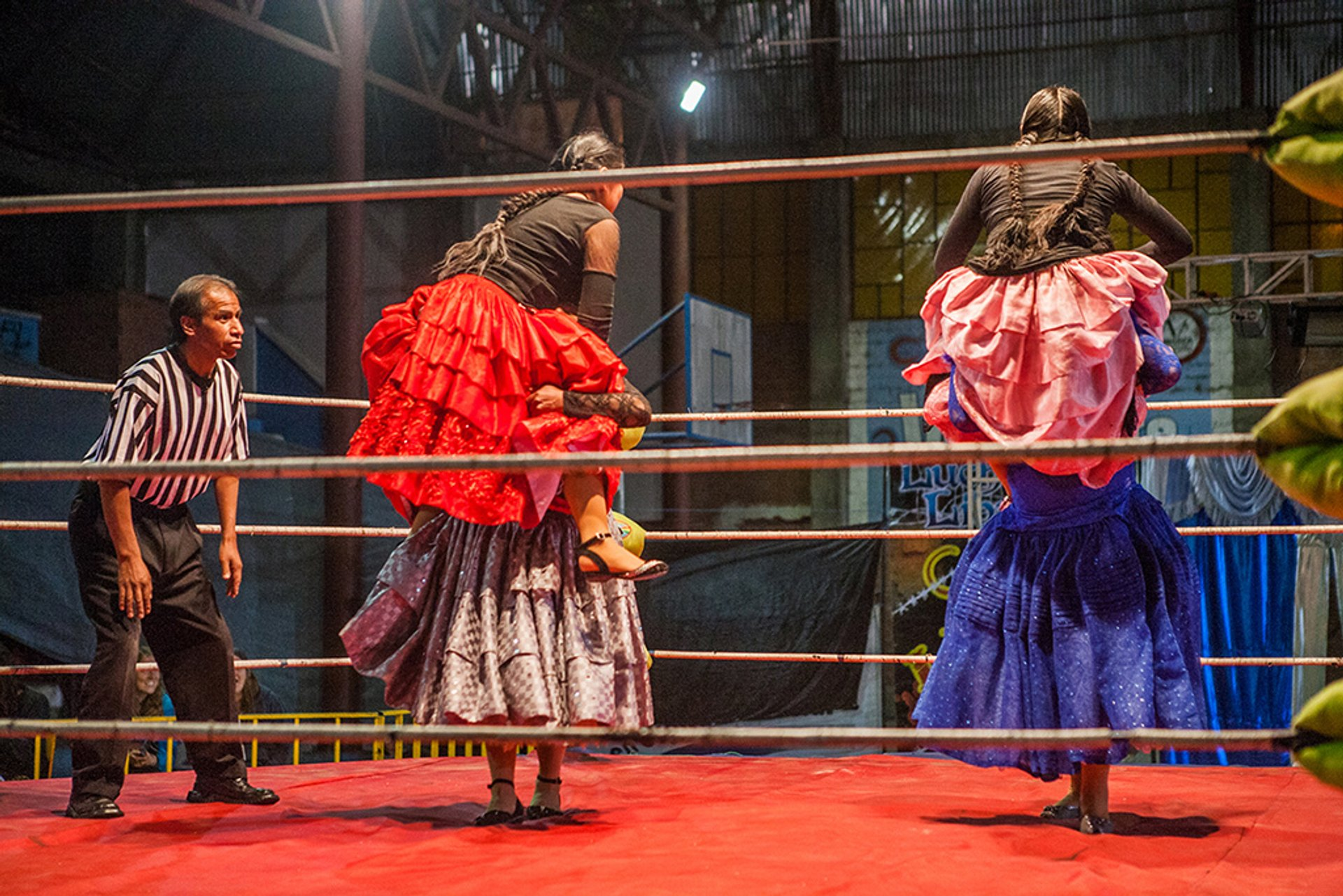 Cholita Wrestling in Bolivia - Best Season 2020