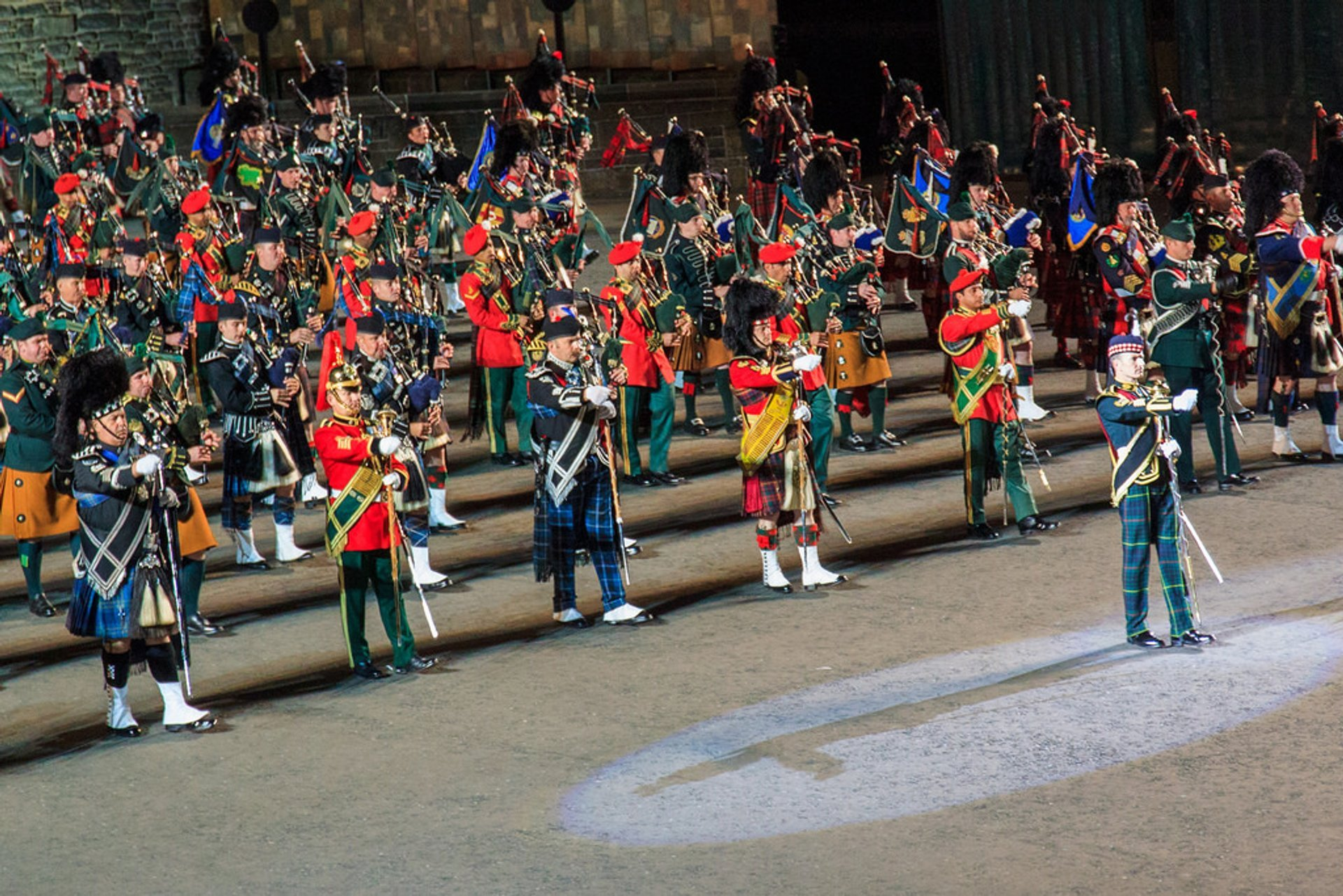 Best time to see Edinburgh Military Tattoo in Edinburgh 2020