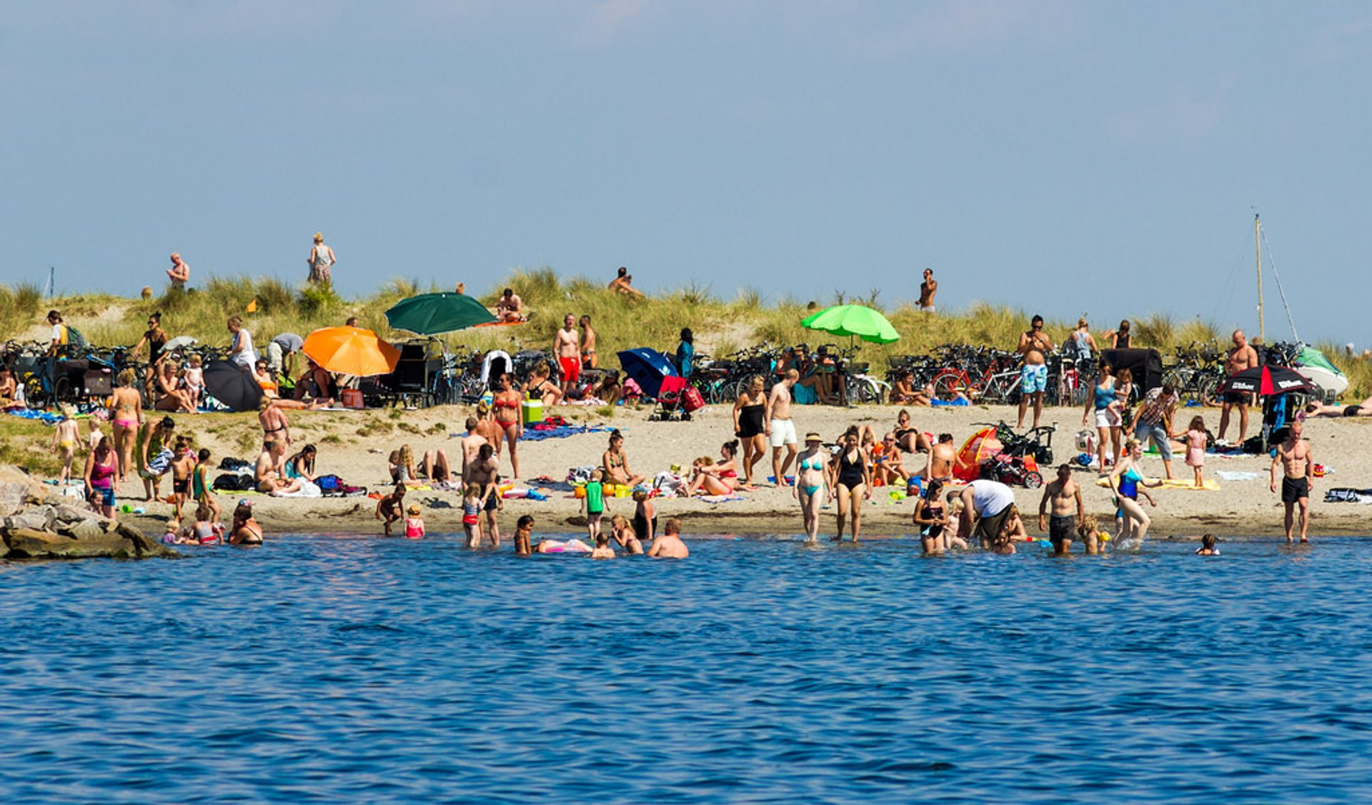 Amager Beach Park best time for beach season in copenhagen 2020 & map - rove