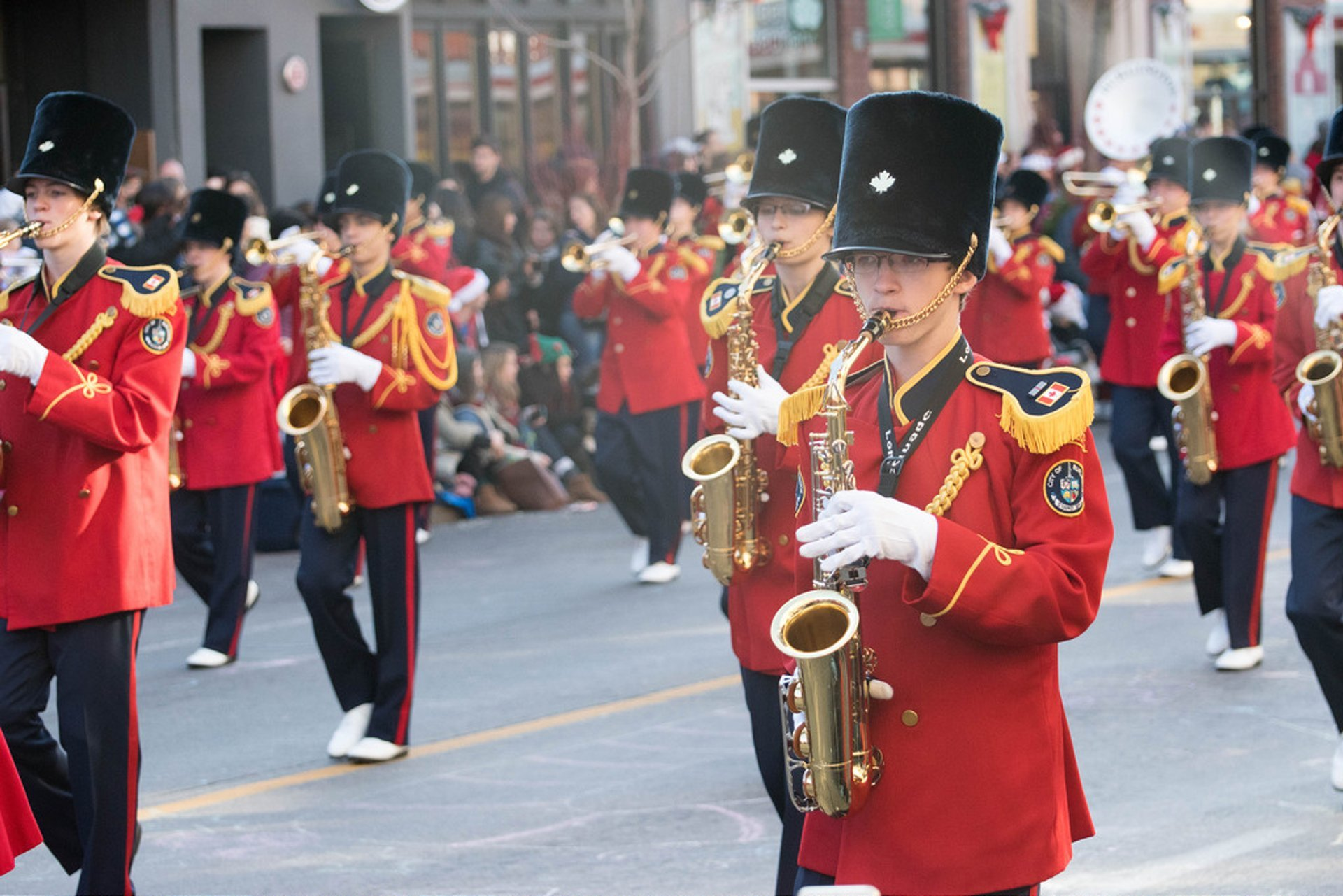 Best time to see Santa Claus Parade in Toronto