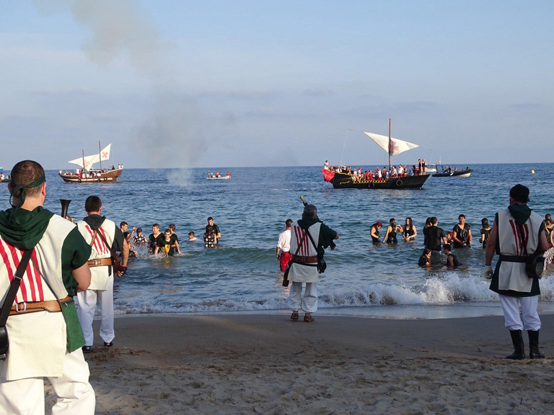 Villajoyosa Moors & Christians Festival in Alicante 2020 - Best Time