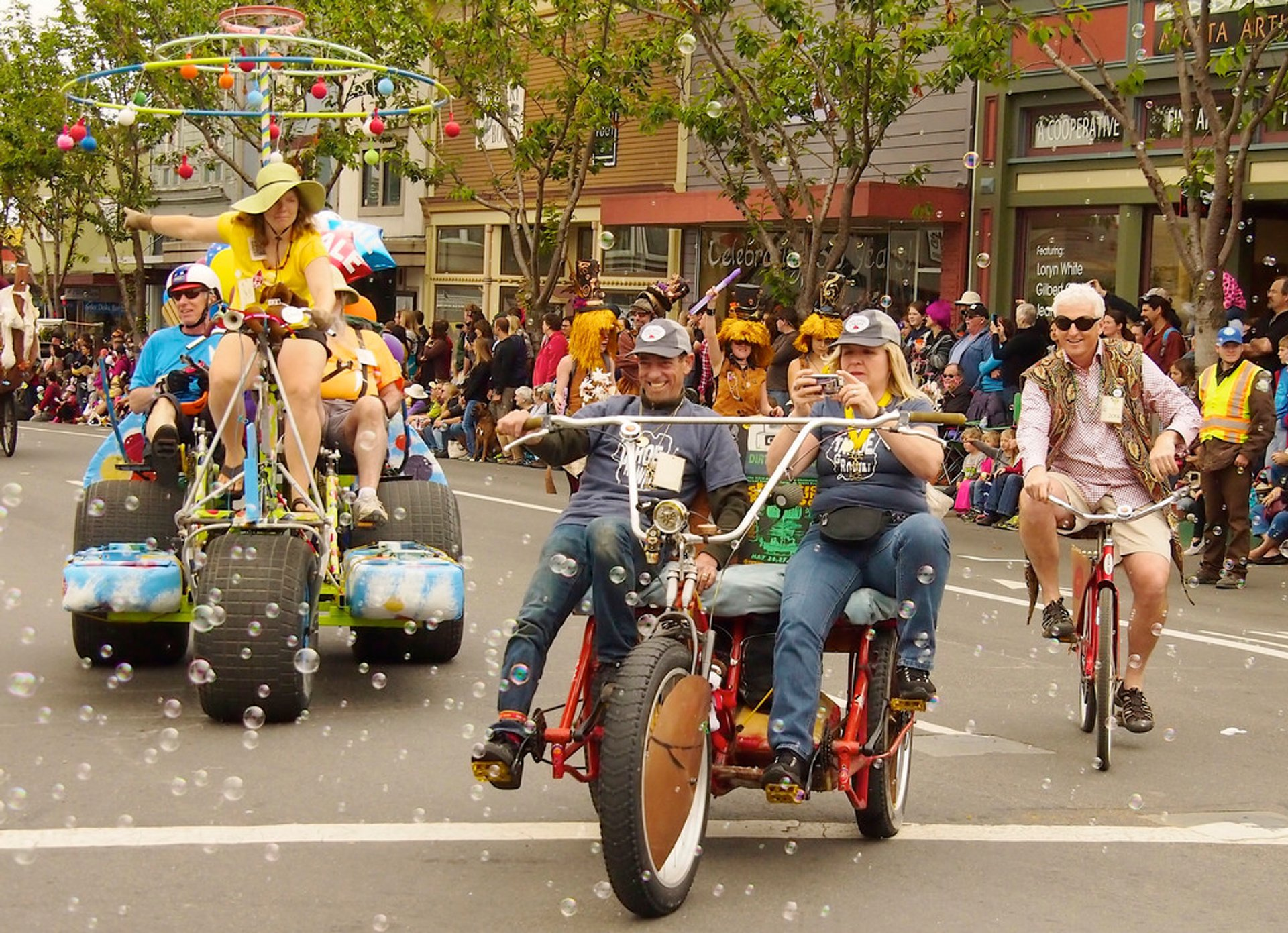 Kinetic Grand Championship in California - Best Time