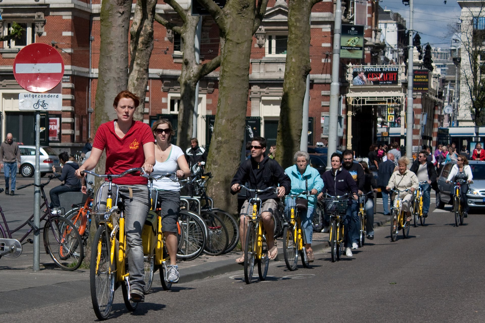 Biking in Amsterdam - Best Season 2020