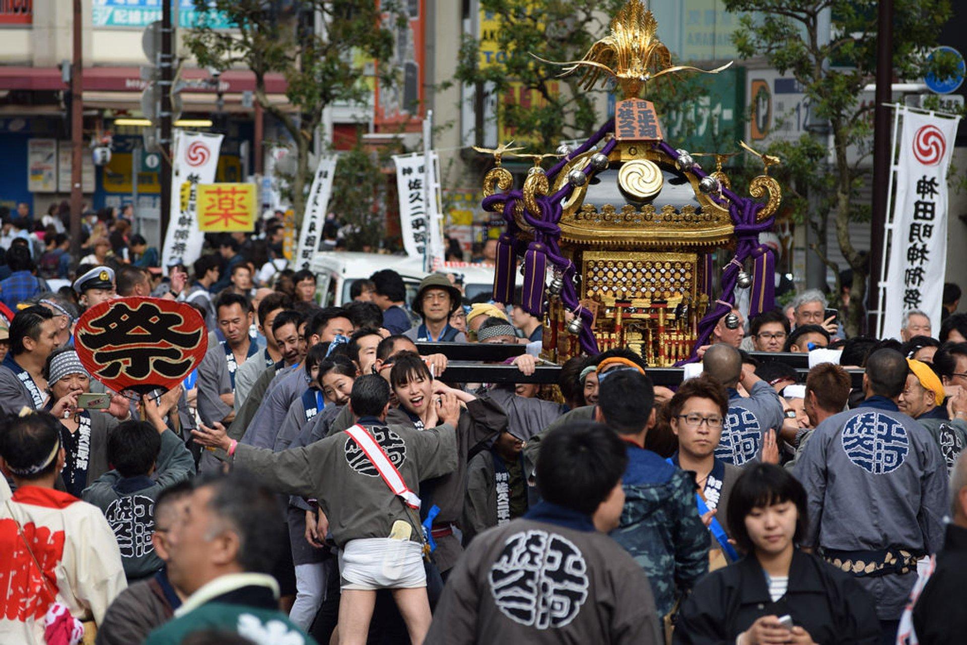 Best time to see Kanda Matsuri 2020