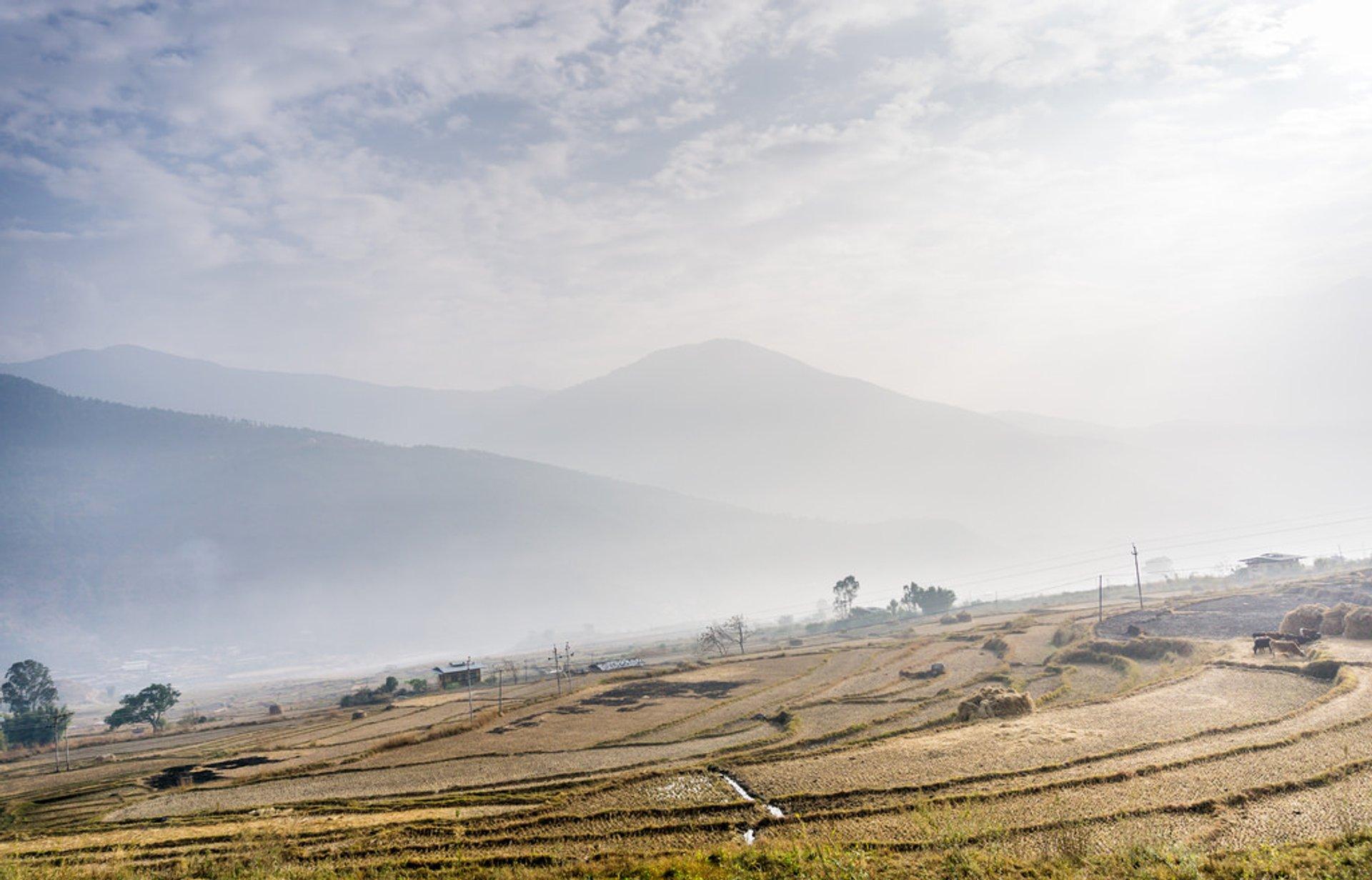 Winter in Bhutan - Best Season 2019