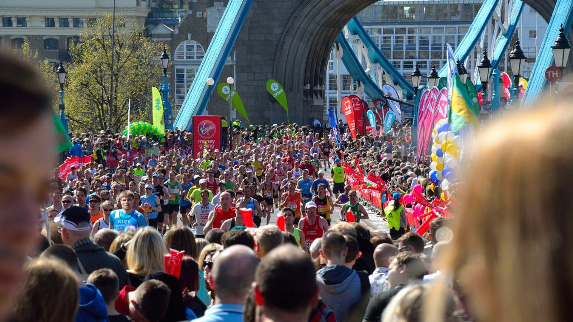 Virgin Money London Marathon in London 2020 - Best Time