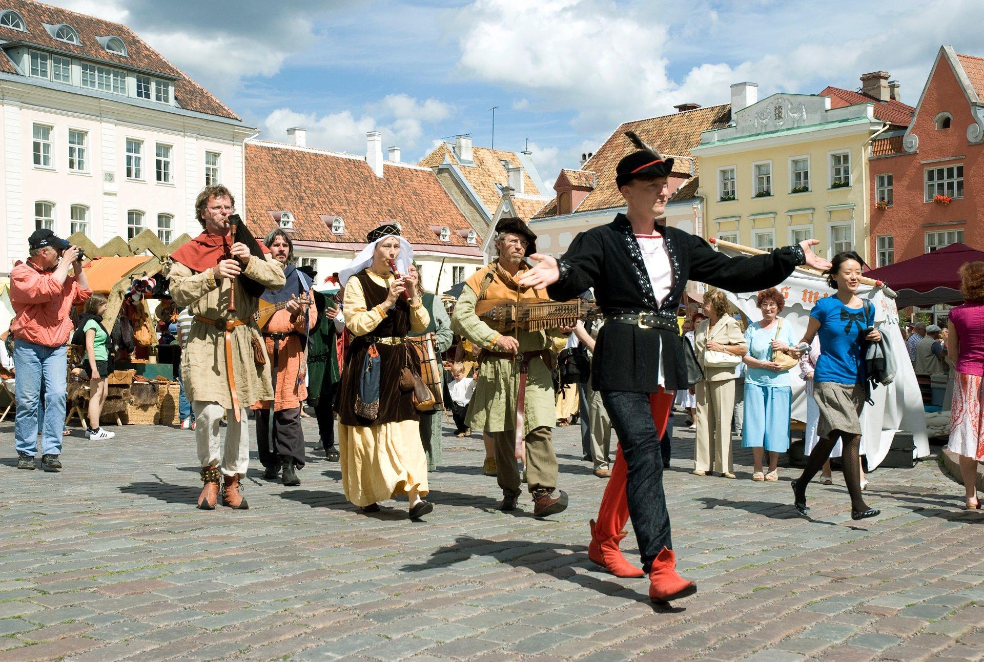 Tallinn Medieval Days in Estonia 2020 - Best Time