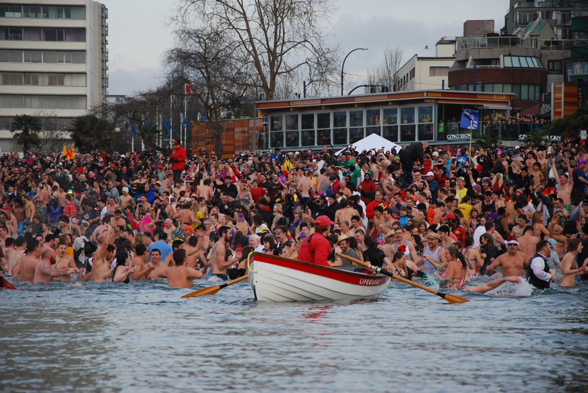 Best time for Polar Bear Swim in Vancouver 2020