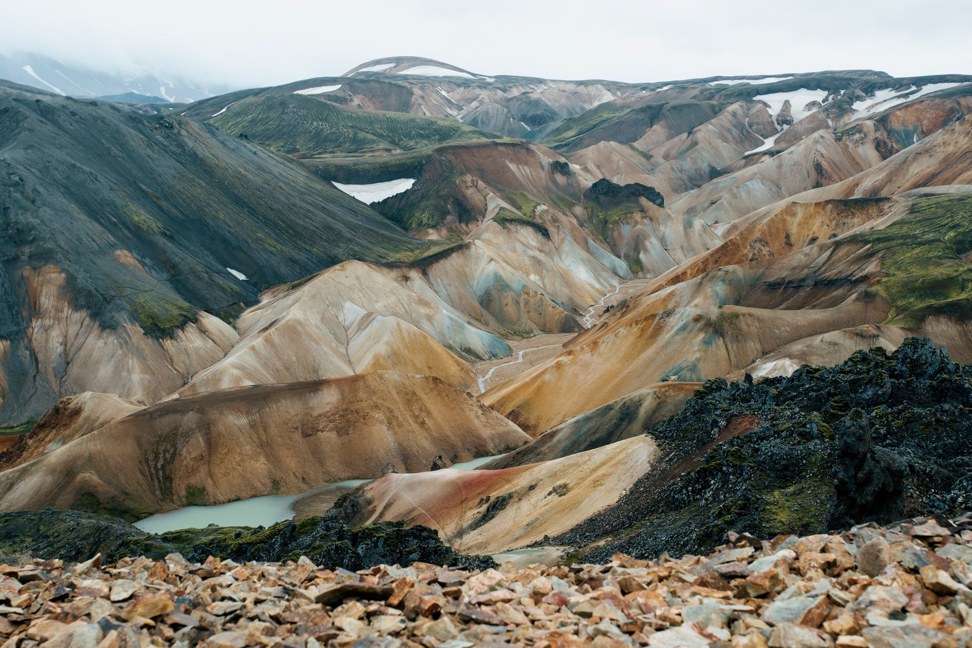 Landmannalaugar in Iceland - Best Season 2020