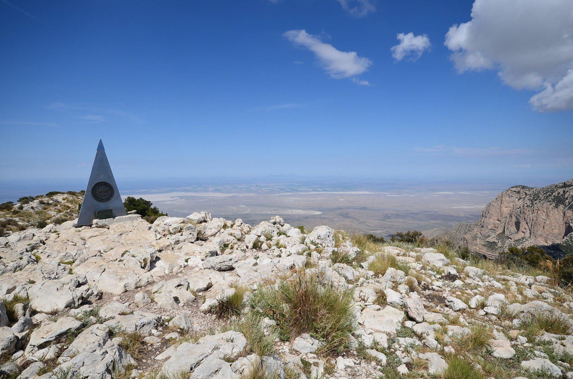 Guadalupe Peak Hike 2020