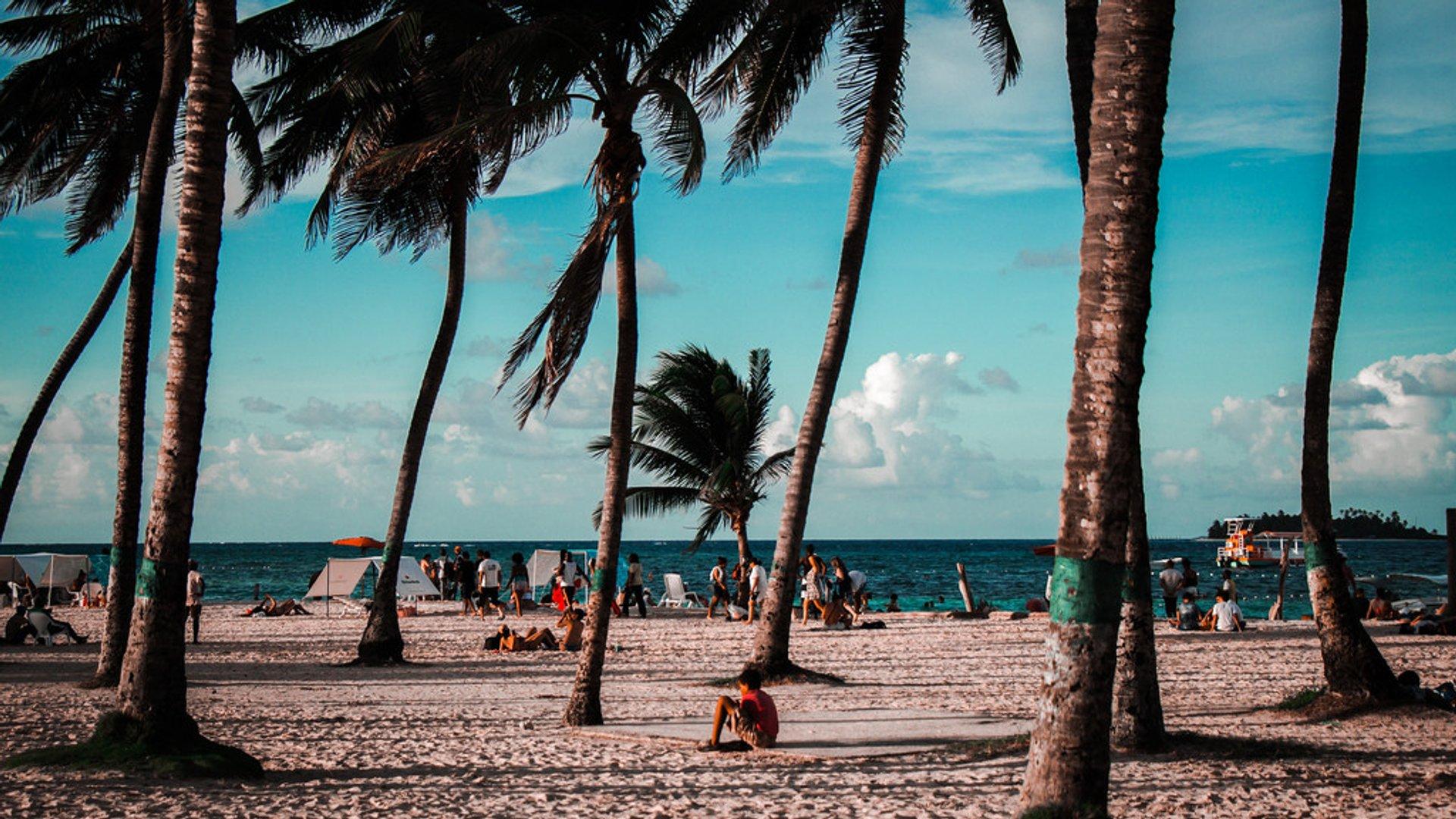 San Andres beach 2020