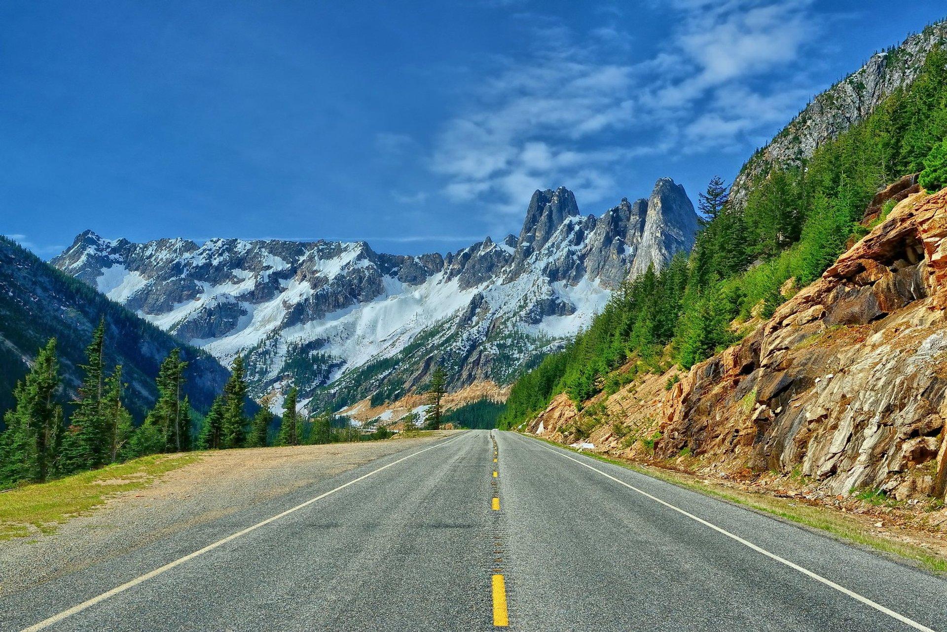 North Cascades Highway in Washington 2019 - Best Time
