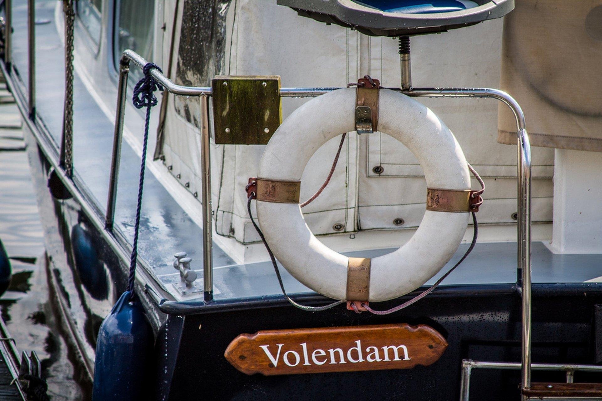 Volendam harbour 2019