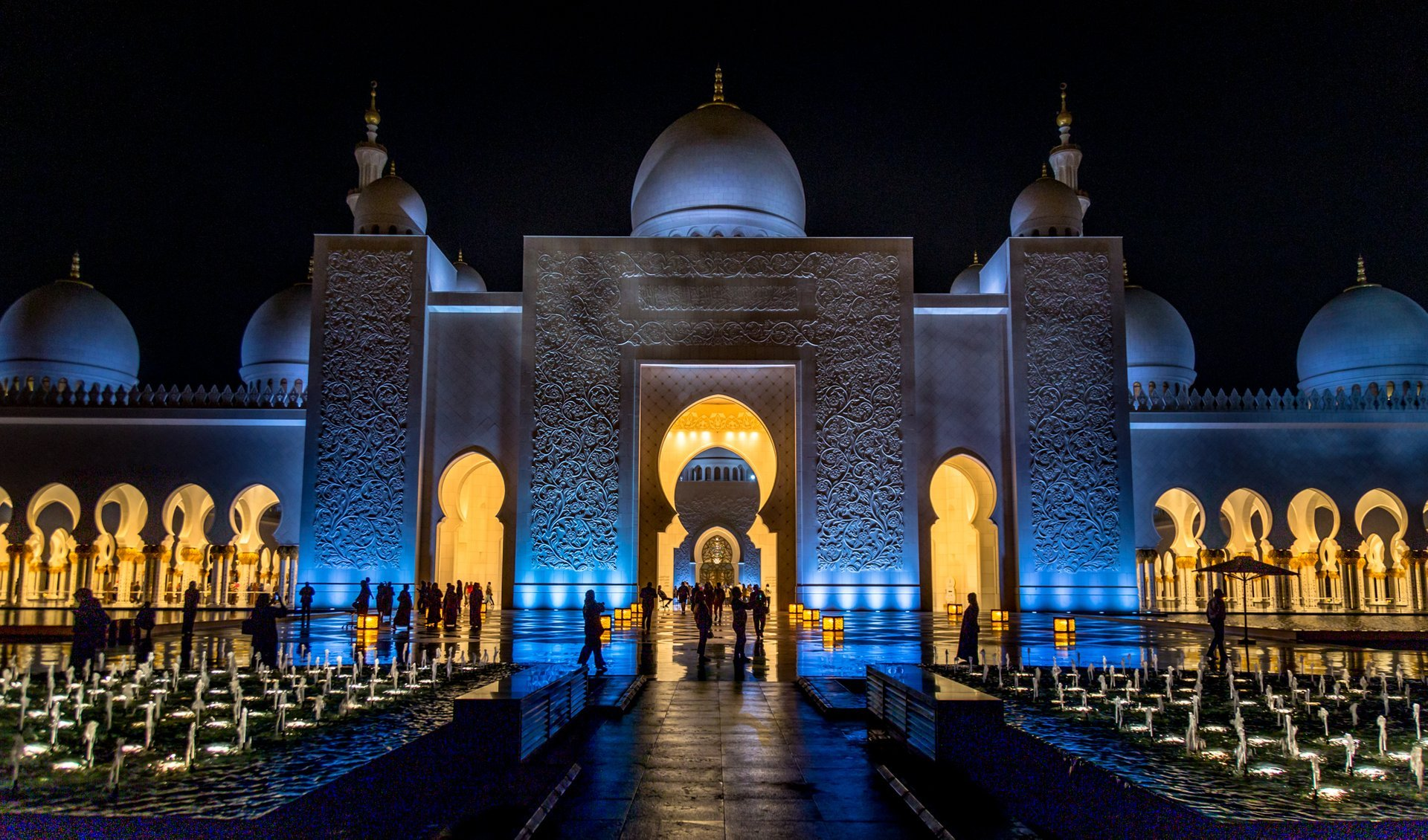 Sheikh Zayed Grand Mosque in Abu Dhabi in United Arab Emirates 2020 - Best Time