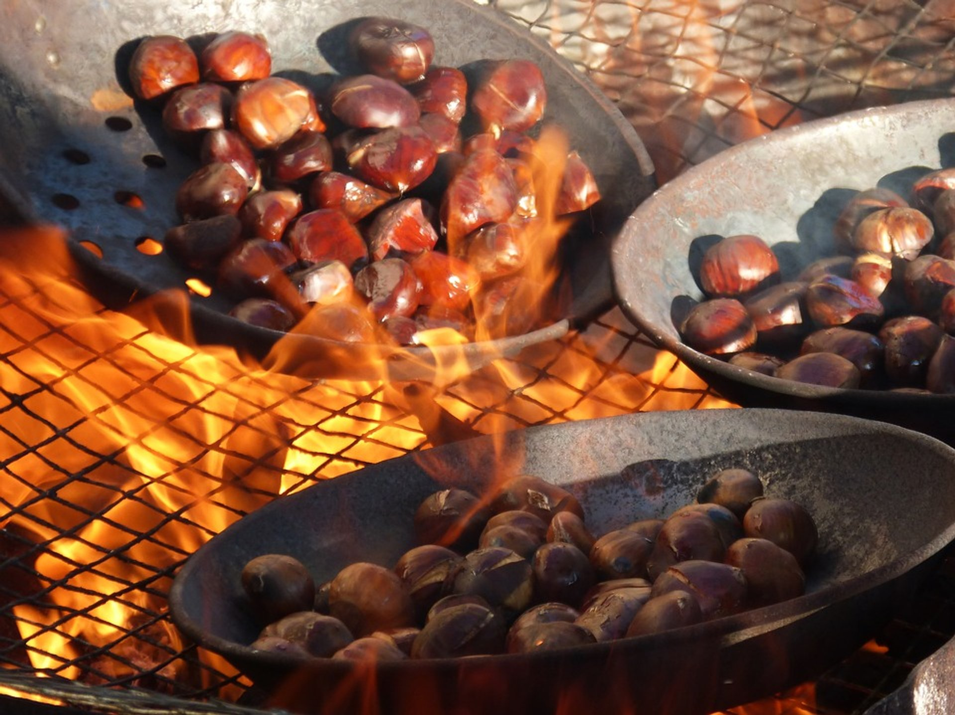 Best time for Elos Chestnut Harvest and Festival in Crete 2020