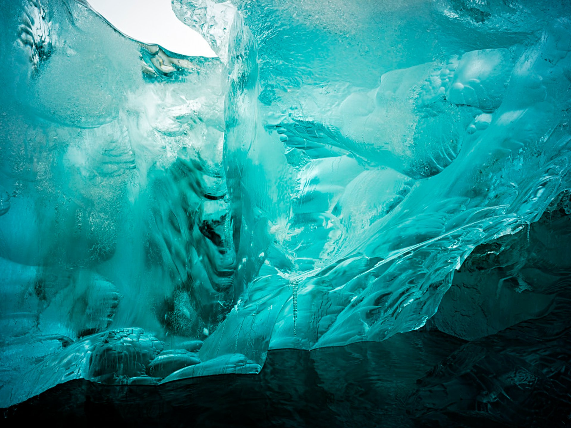 Ice Caving in Svalbard - Best Season 2020