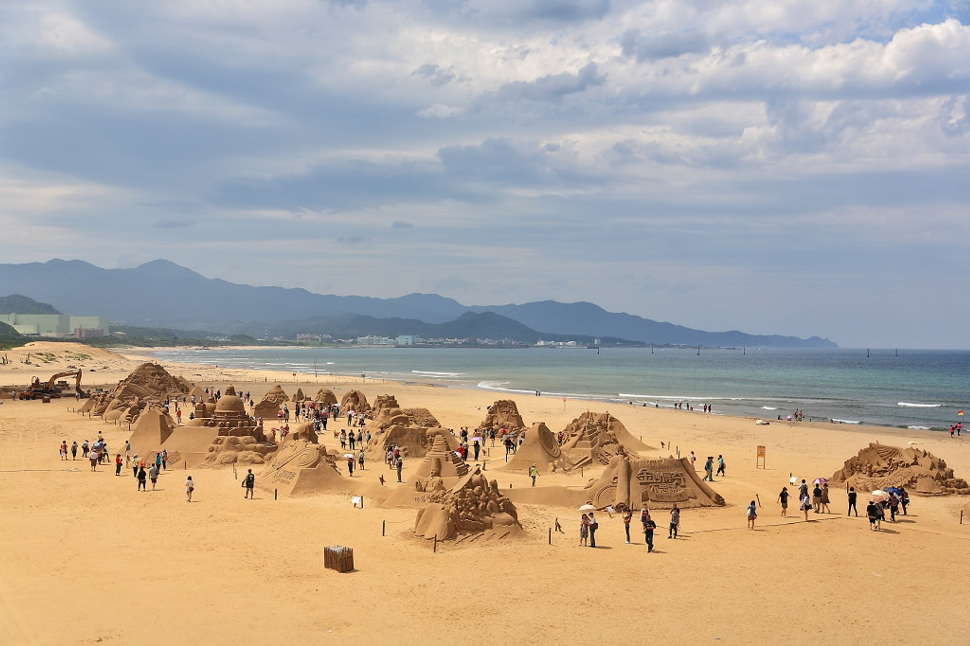 Fulong Sand Sculpture Festival in Taiwan 2020 - Best Time