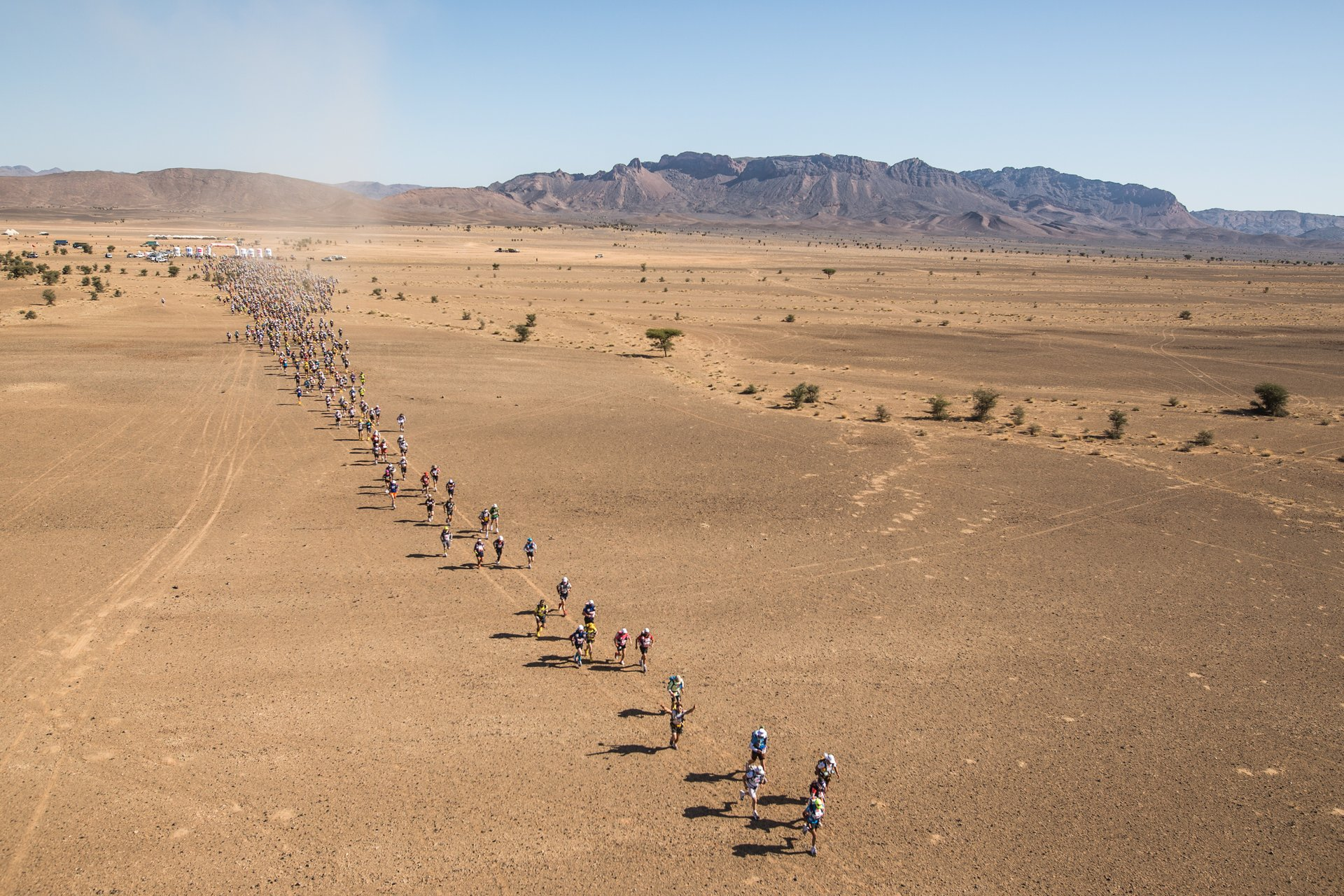 Best time to see Marathon Des Sables (MDS) in Morocco 2019