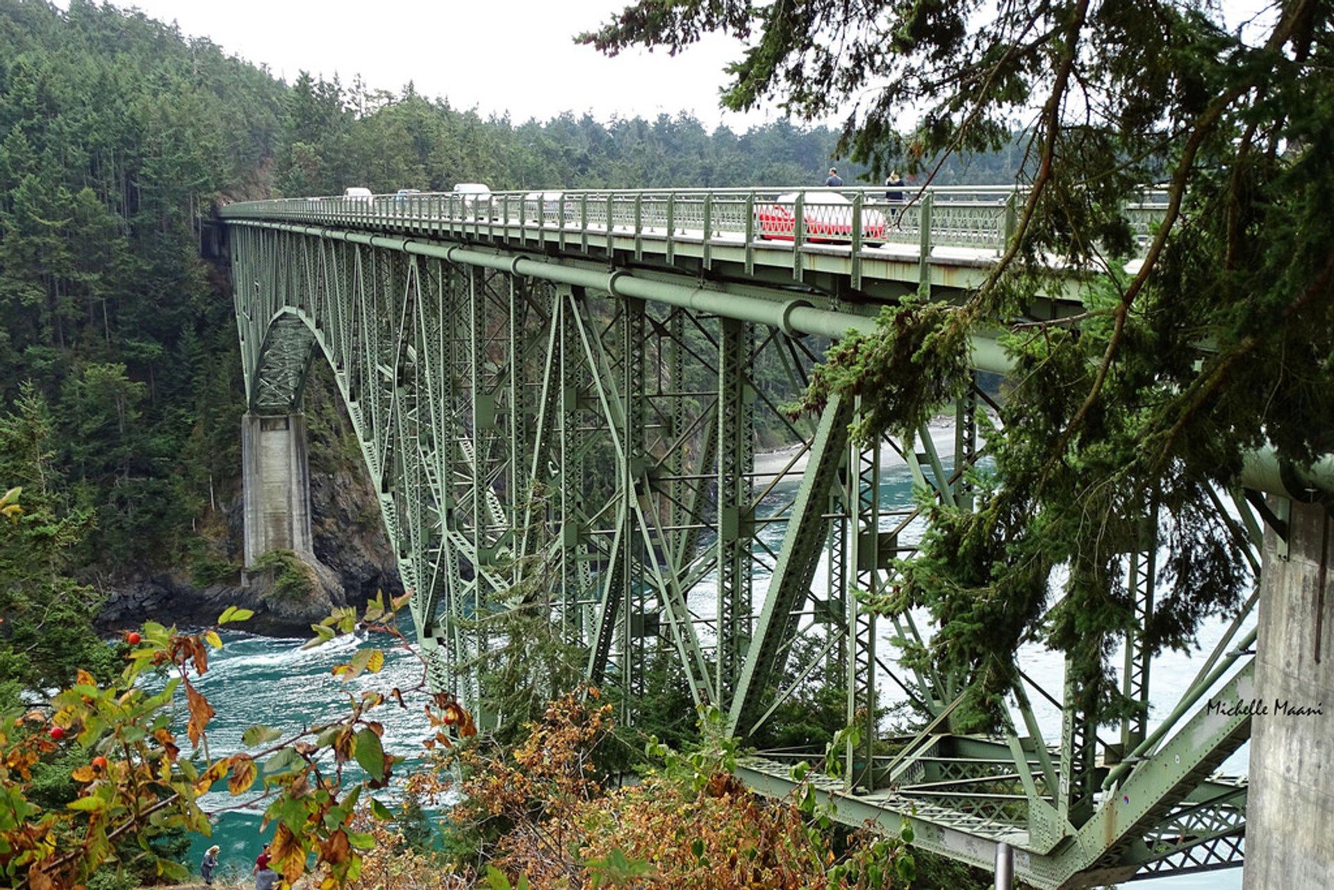 Deception Pass Bridge and Park in Seattle - Best Season 2020