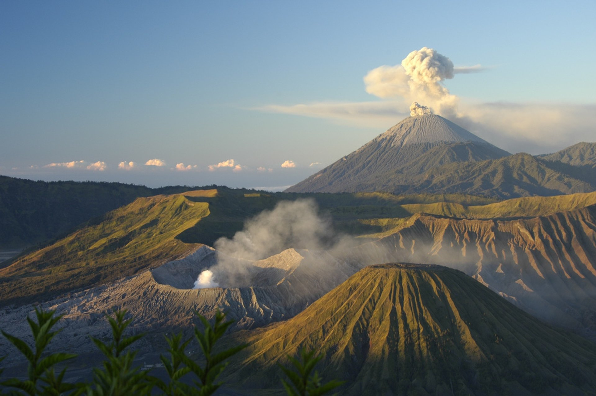Sunrise over Mt Bromo from Penanjakan viewpoint 2020