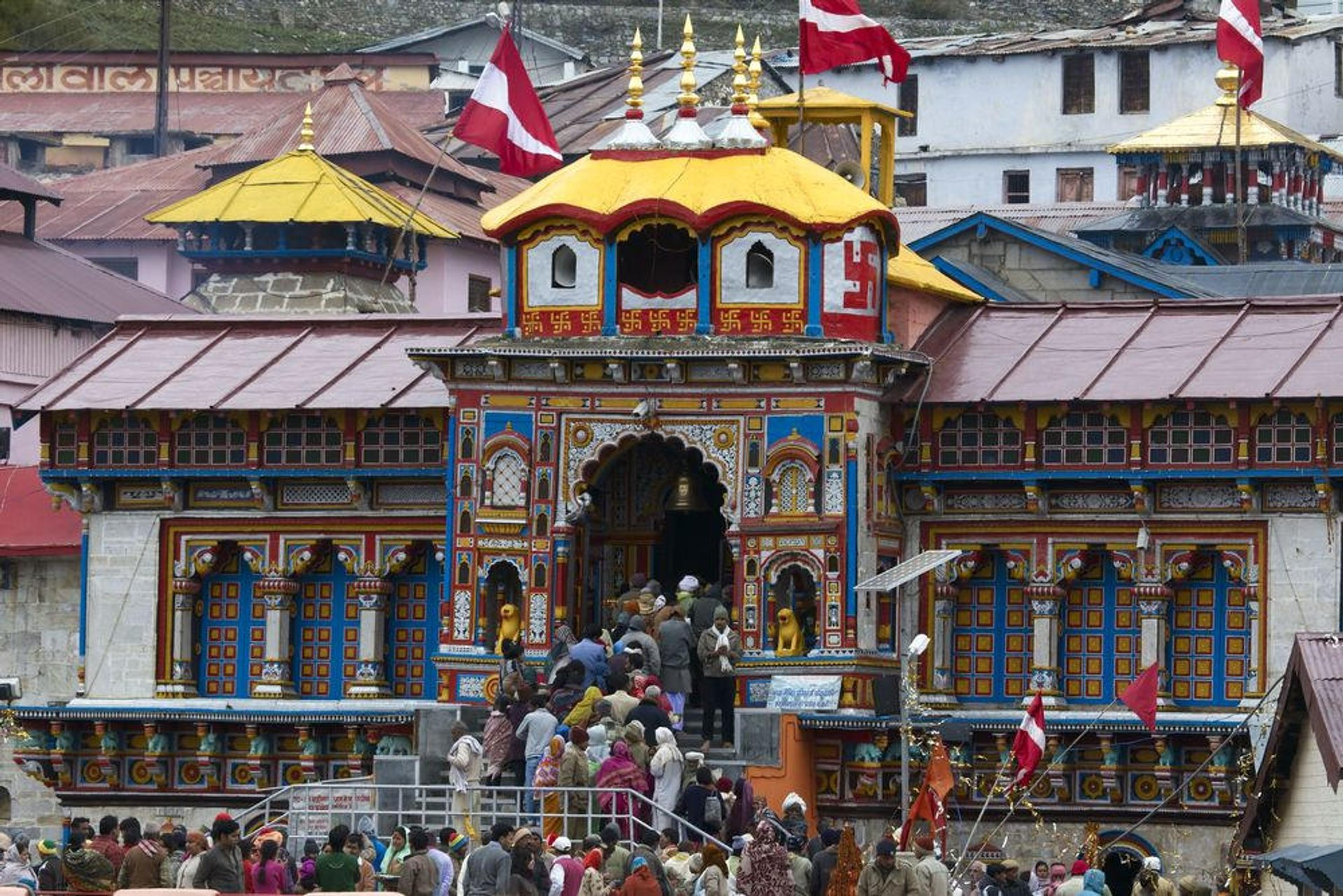 Badrinath Temple 2020