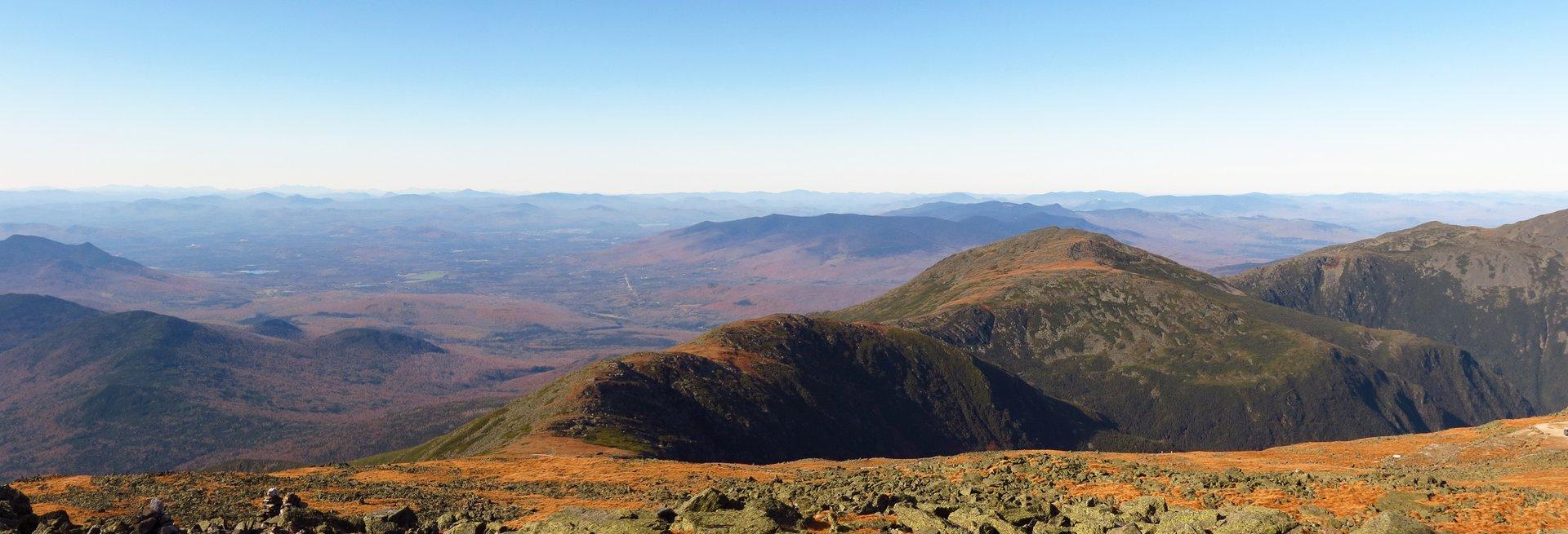 View from Mount Washington Peak, Gorham 2020