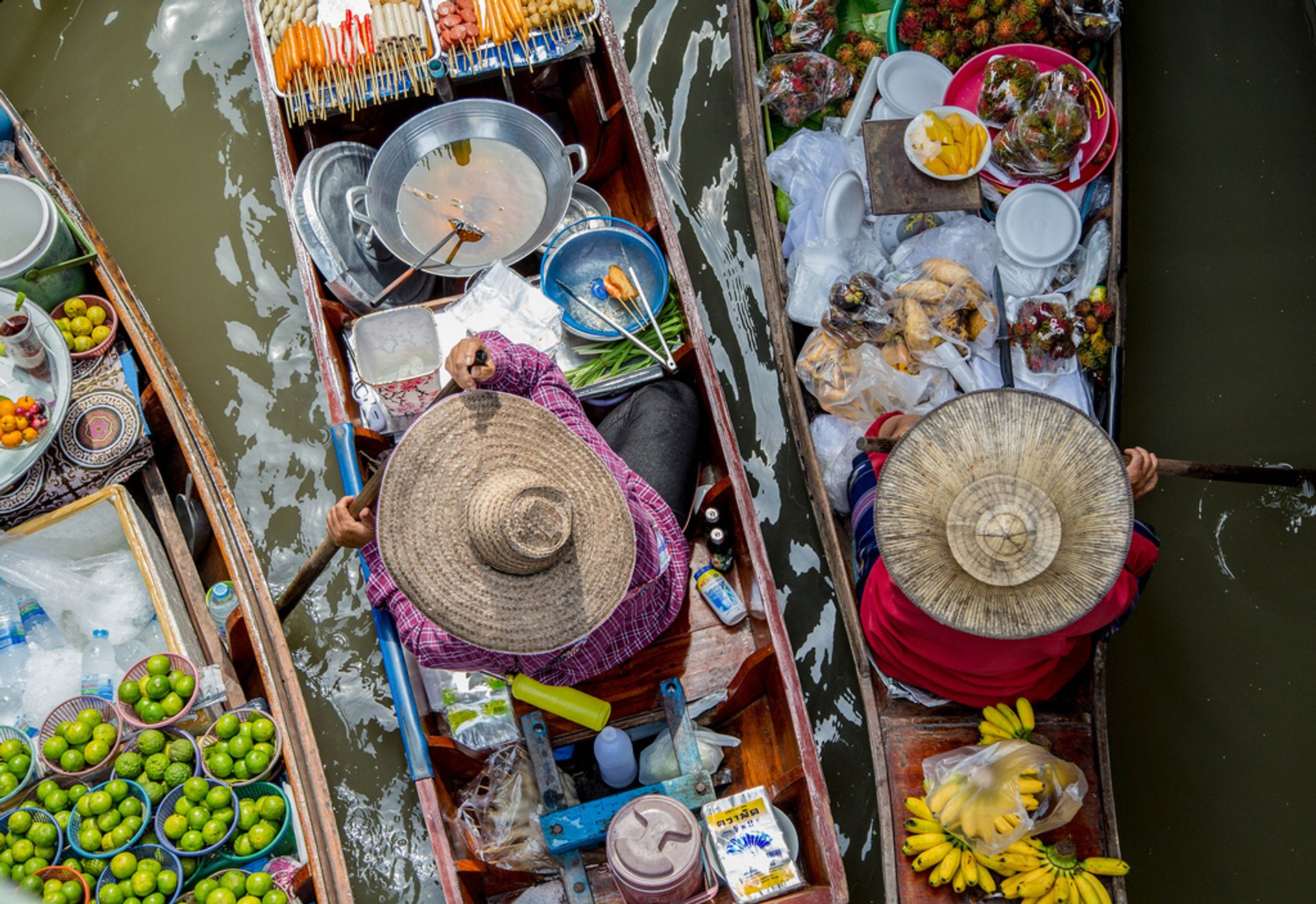 Floating Markets in Bangkok 2020 - Best Time