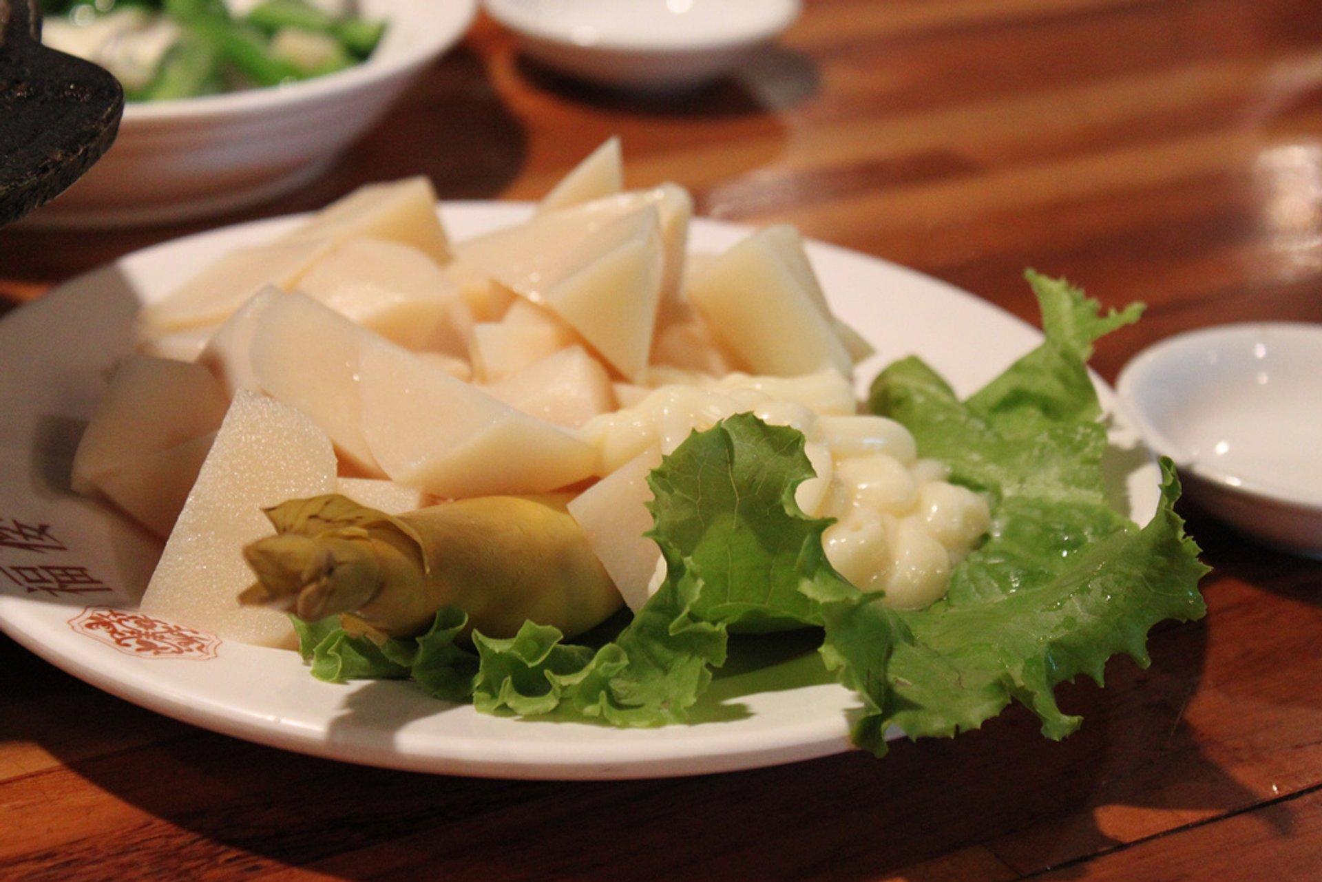 Bamboo and mayo