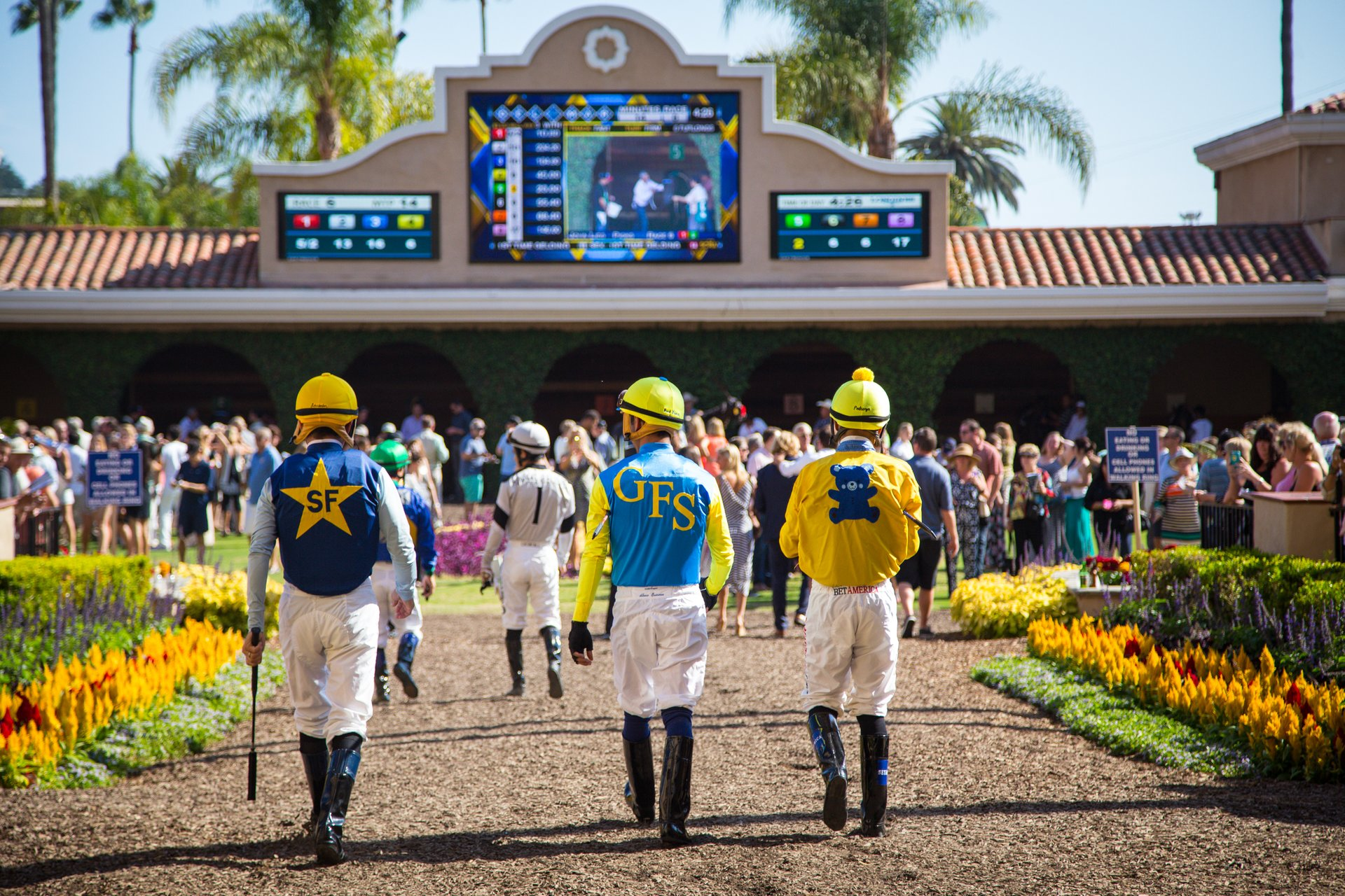 Best time for Del Mar Racing Season 2020