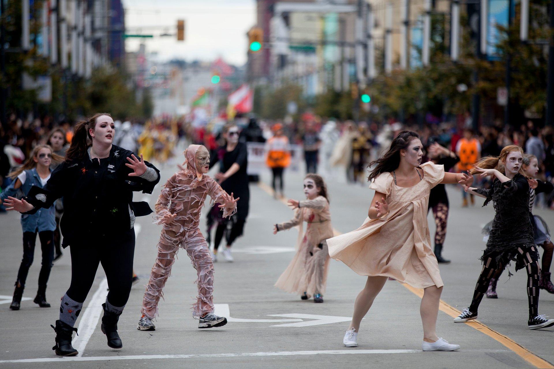Vancouver Halloween Parade 2020