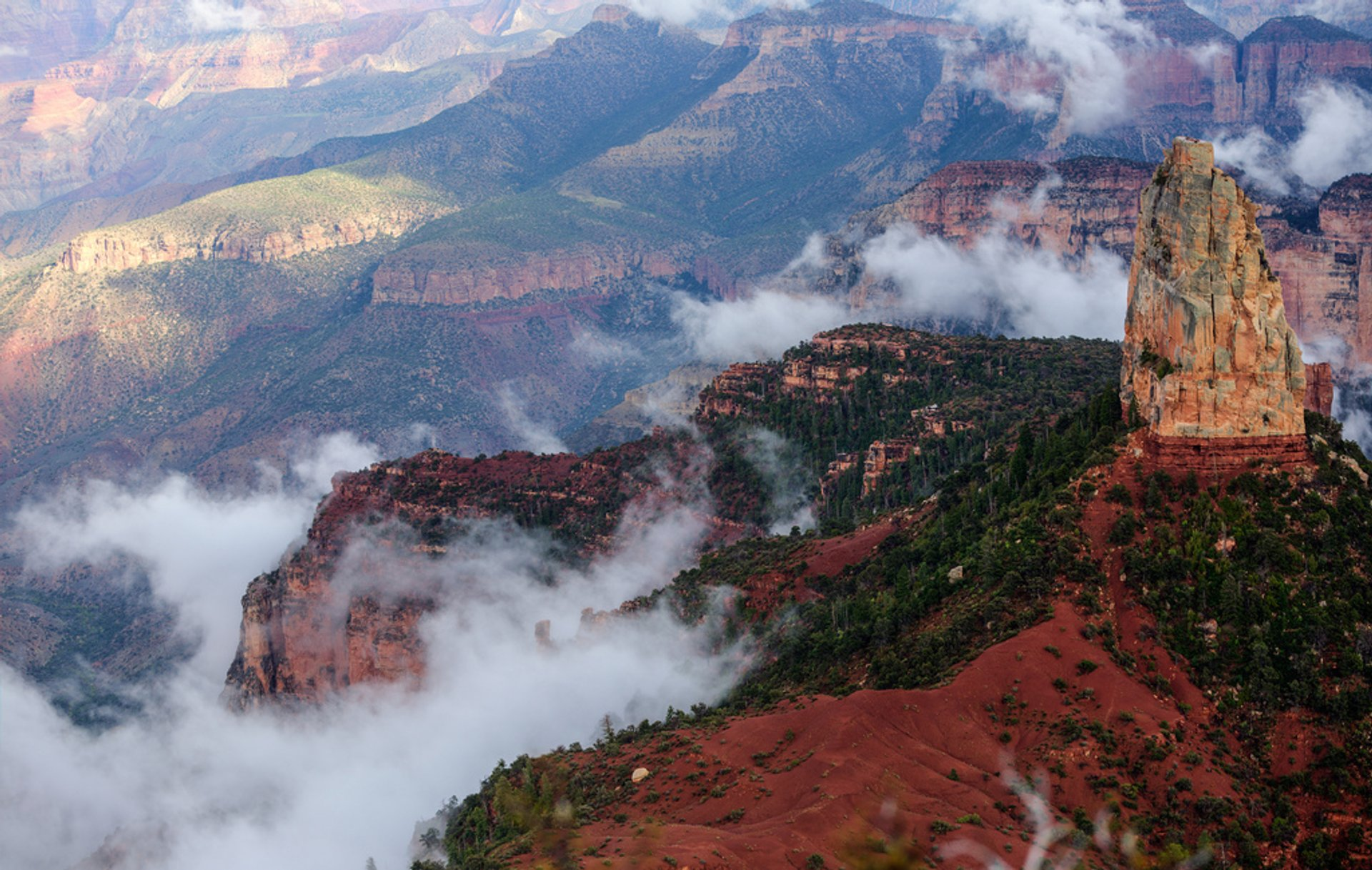 Best time for North Rim in Grand Canyon 2019