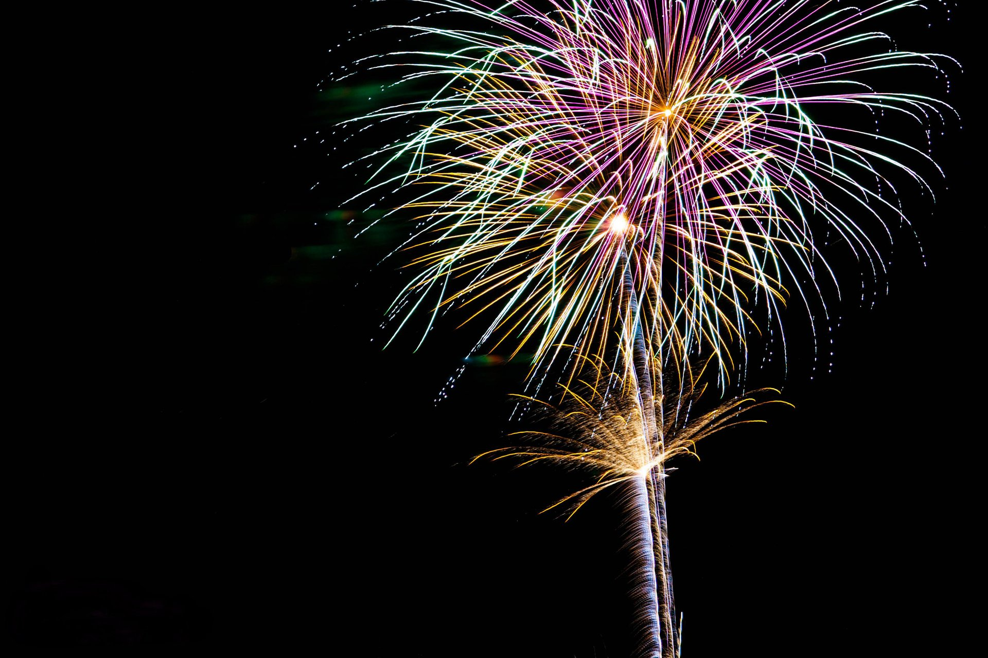4th of July Fireworks in Prescott 2020