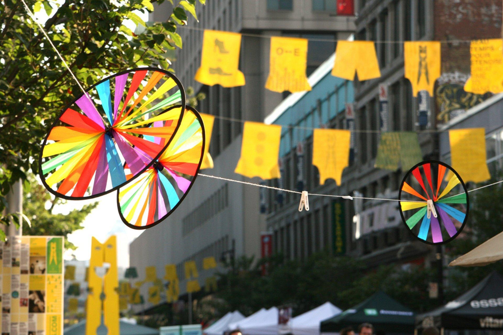 Best time for Montréal Pride (Fierté Montréal) in Montreal 2020