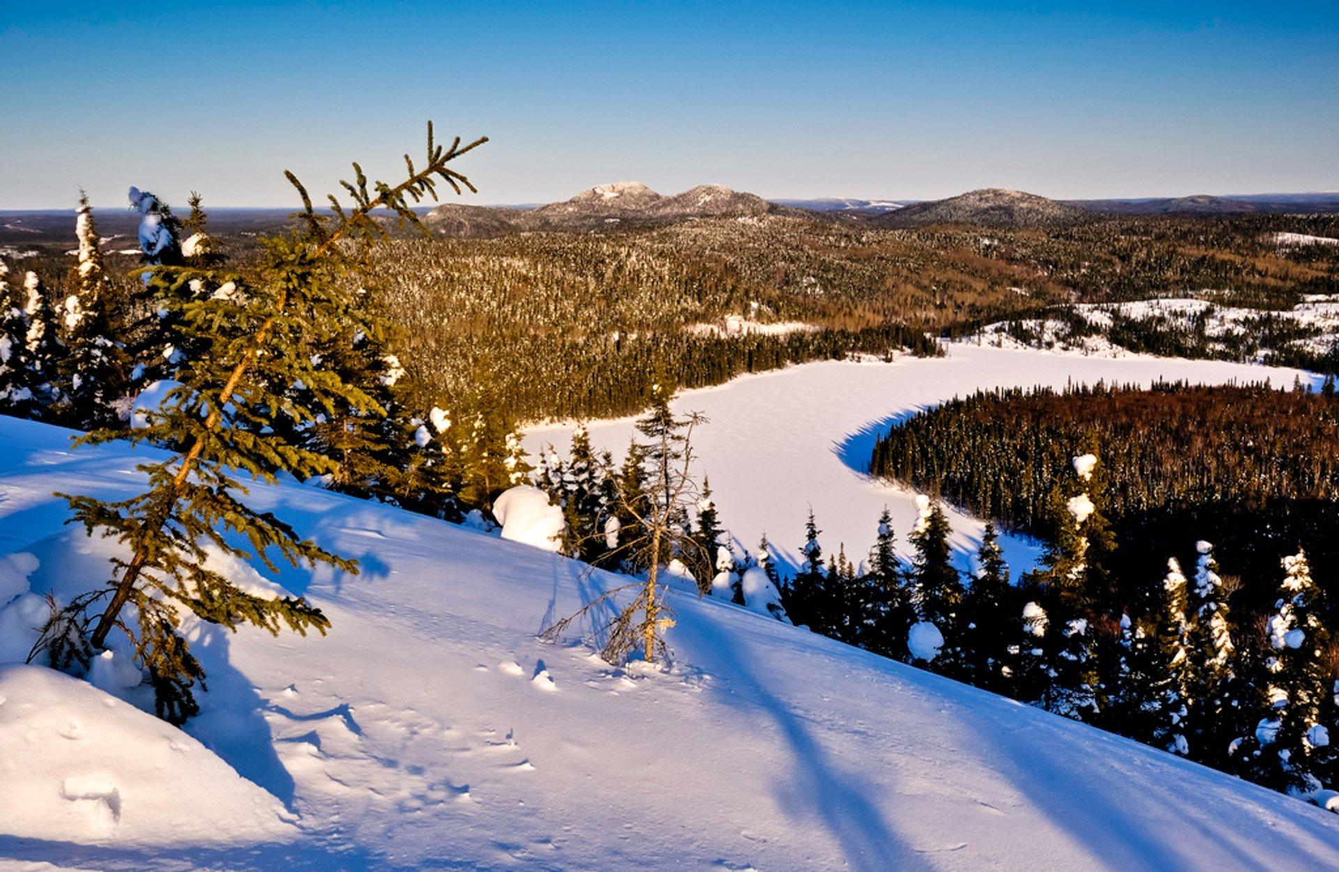 Winter Hiking in Quebec - Best Season 2020