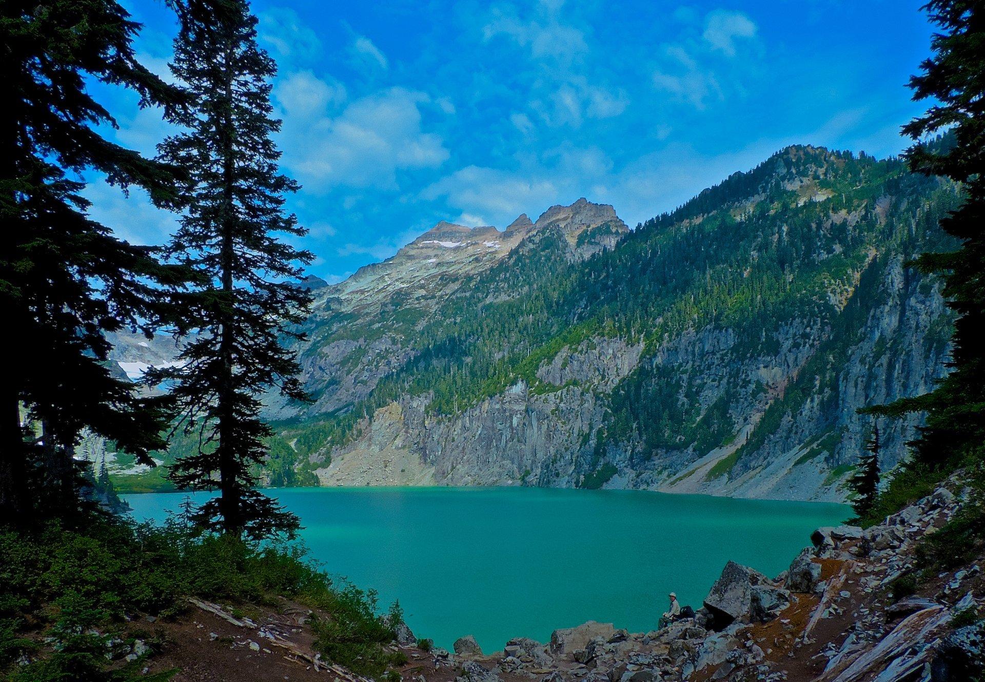 Blanca Lake and Keyes Peak and Miles 2020