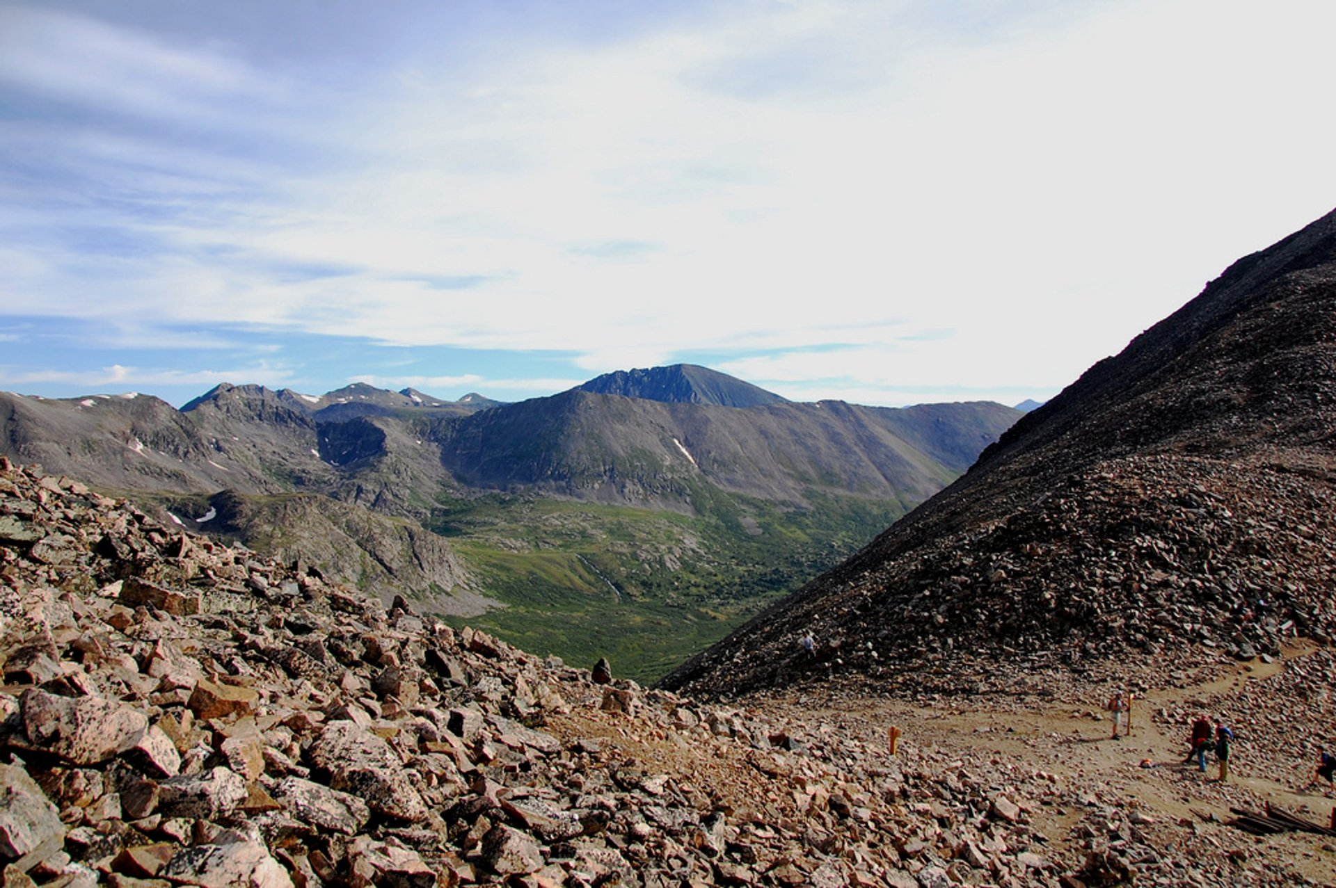 Mt Democrat in July 2020