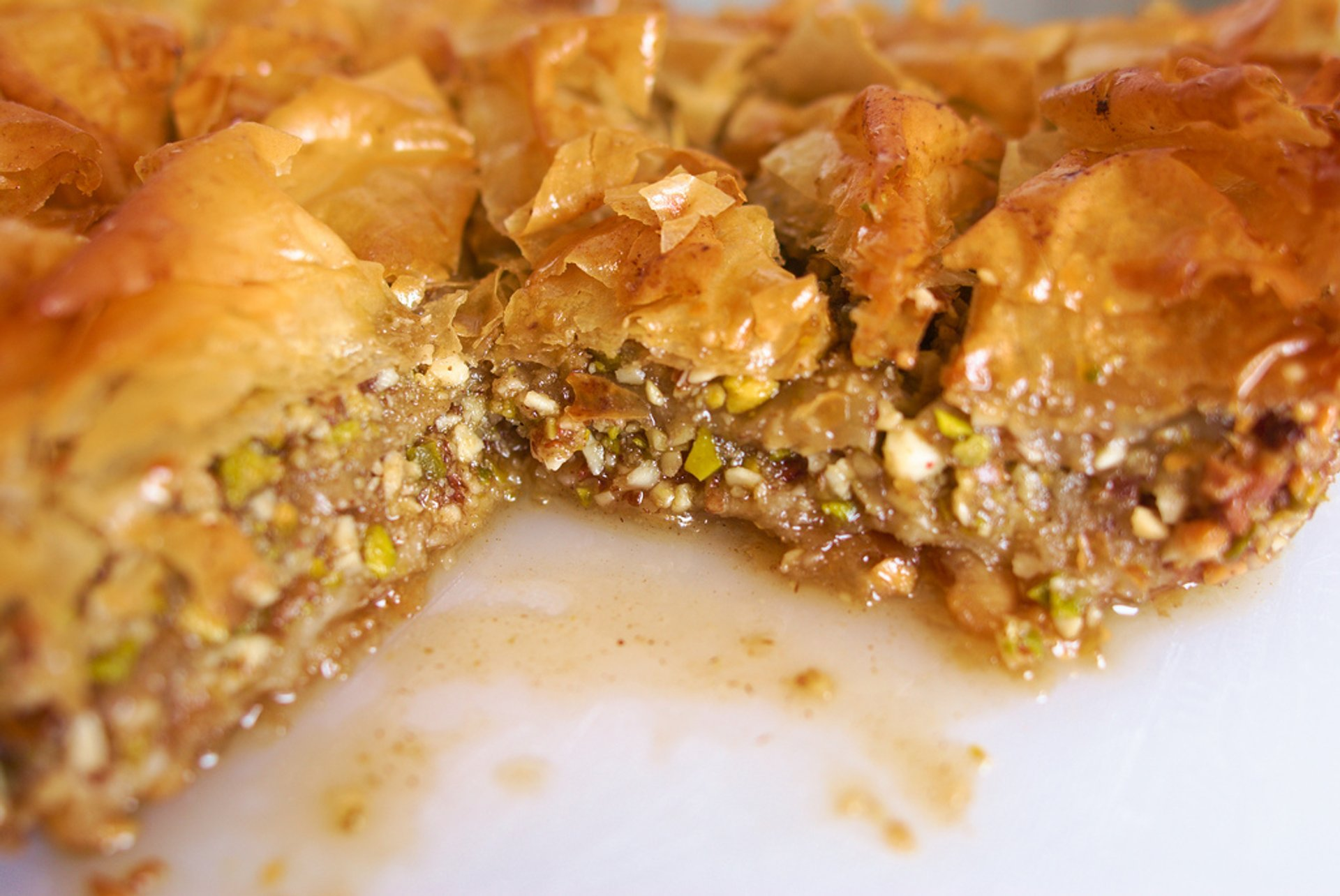 Baklava in Santorini - Best Season
